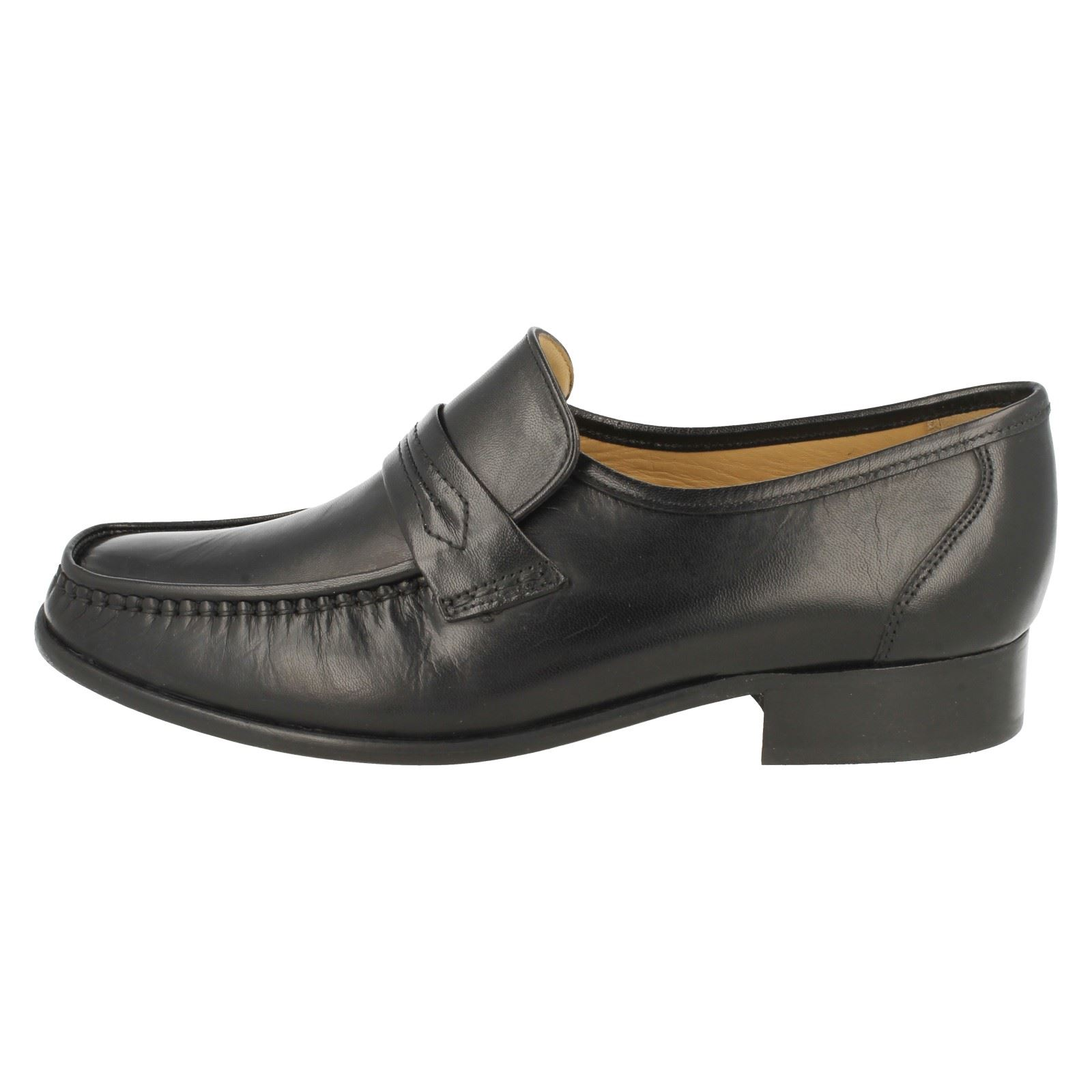 Mens Thomas Blunt Leather Moccasins /'Watford/'