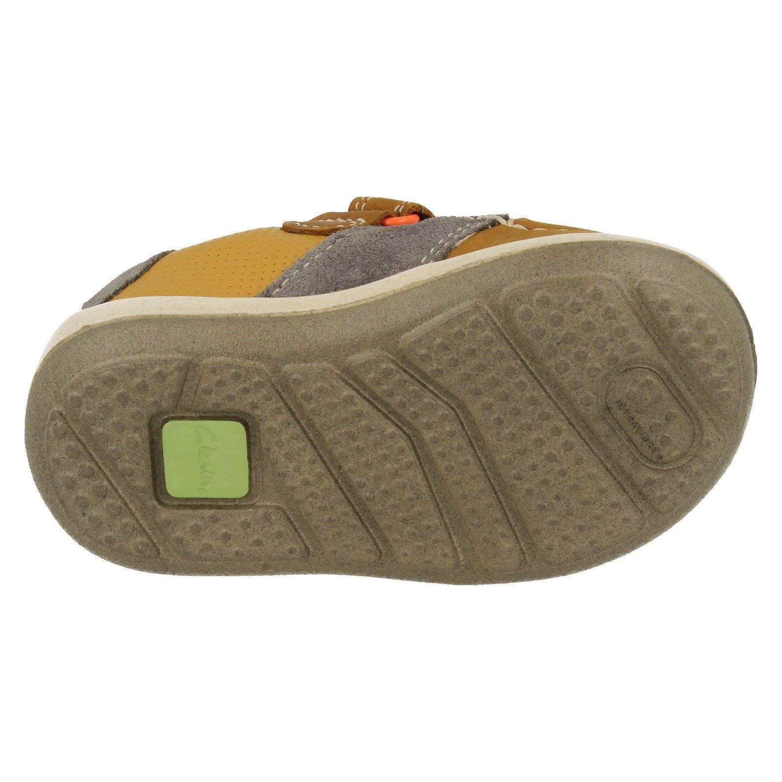 Infant Boys Clarks First Shoes /'Softly Boat/'