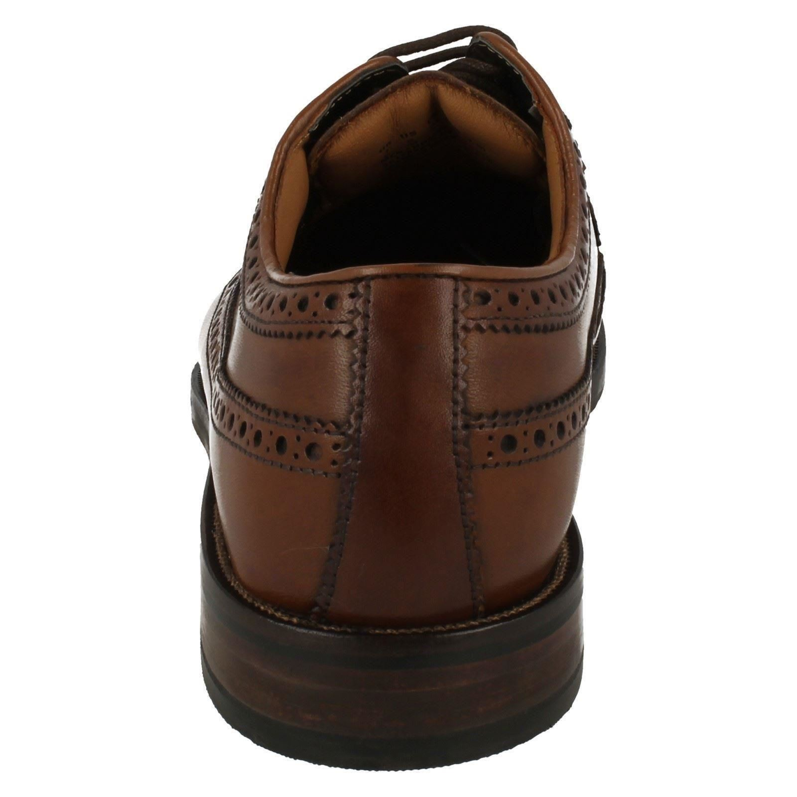 Mens Clarks Brogue Style Lace Up Shoes Coling Limit