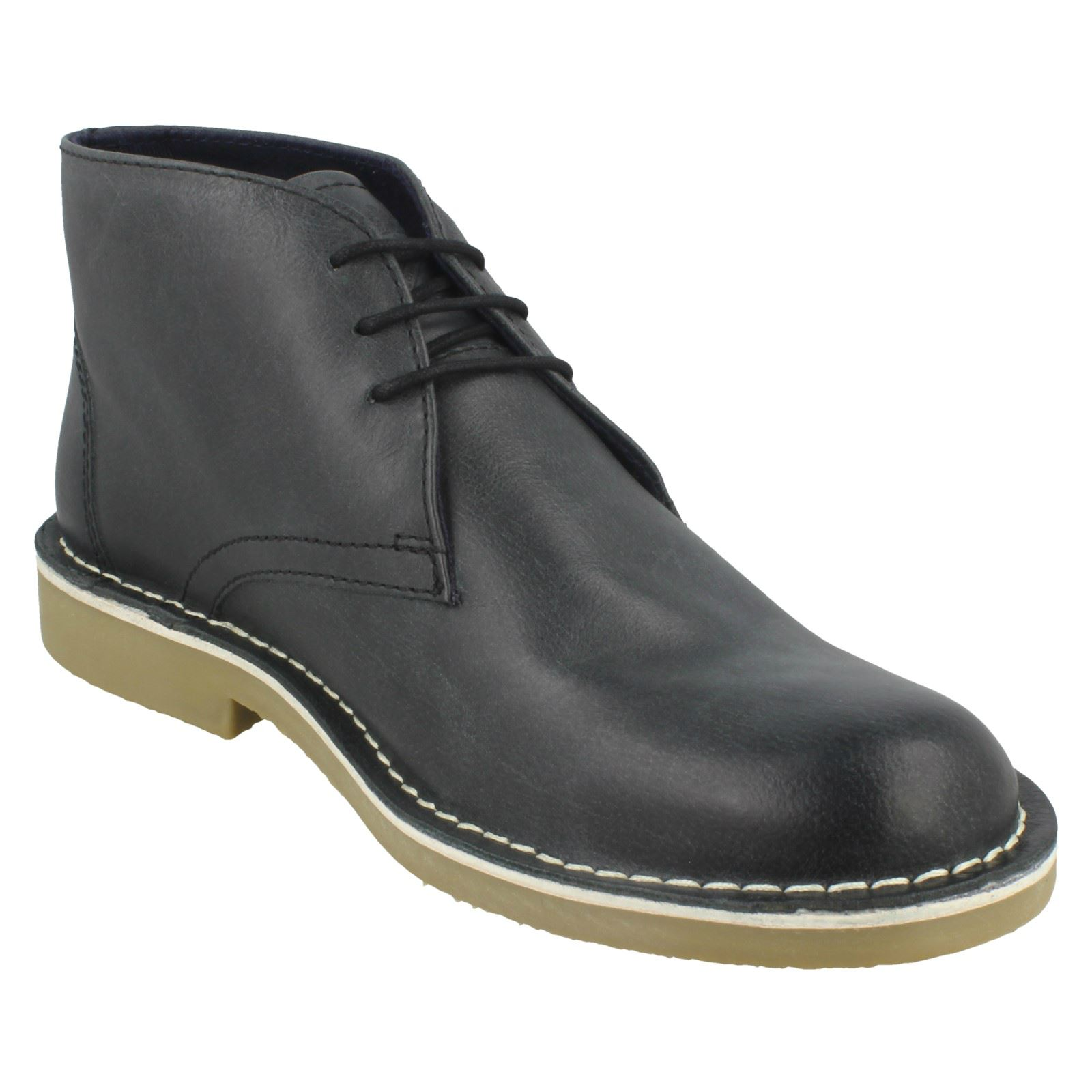 Mens Lambretta Ankle Boots Canary LG 14131