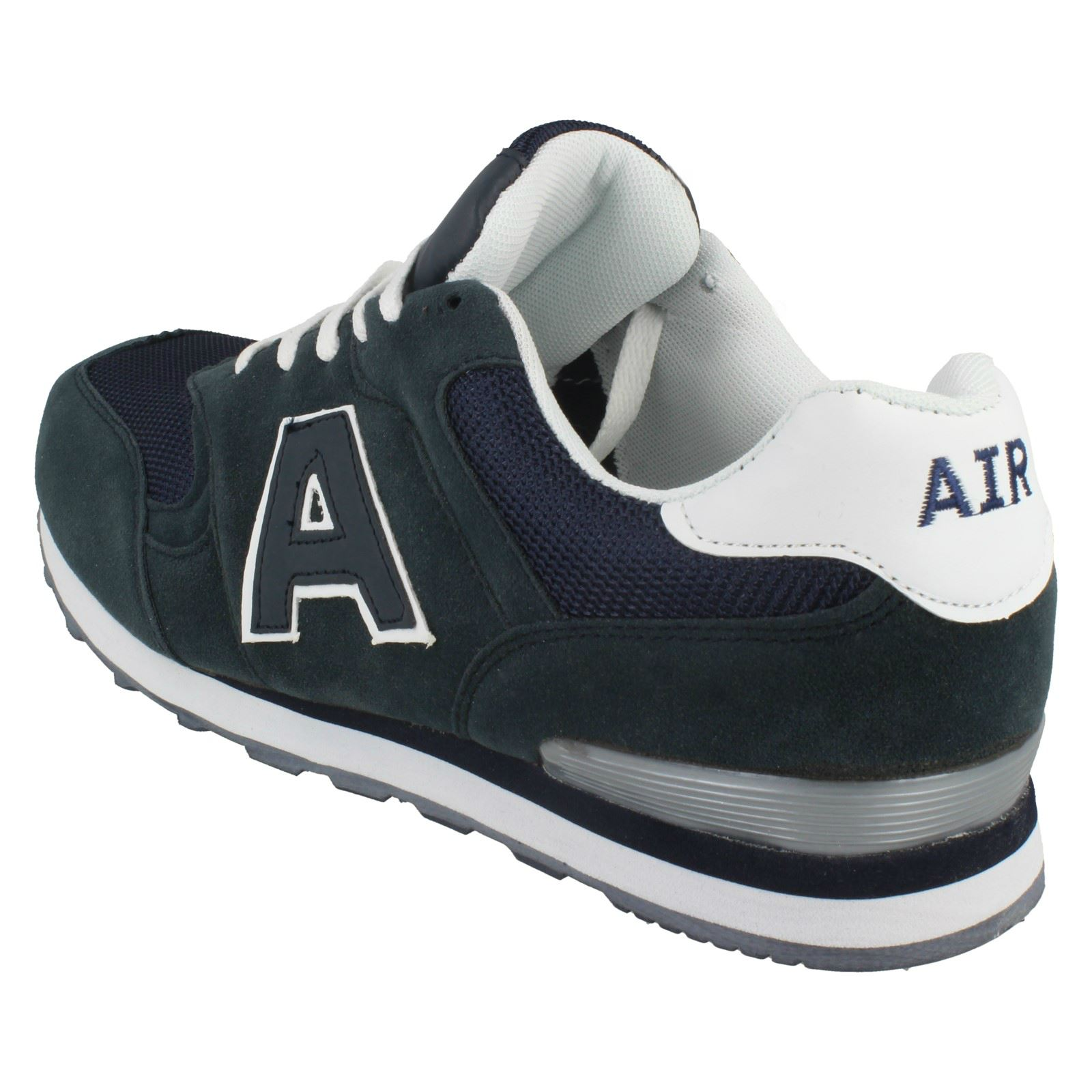 Mens Air Tech Lace Up Trainers /'Campus/'