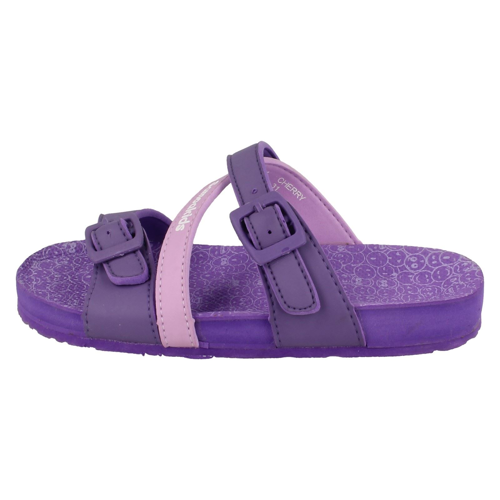 Girls Samoa Flat Mule Sandal