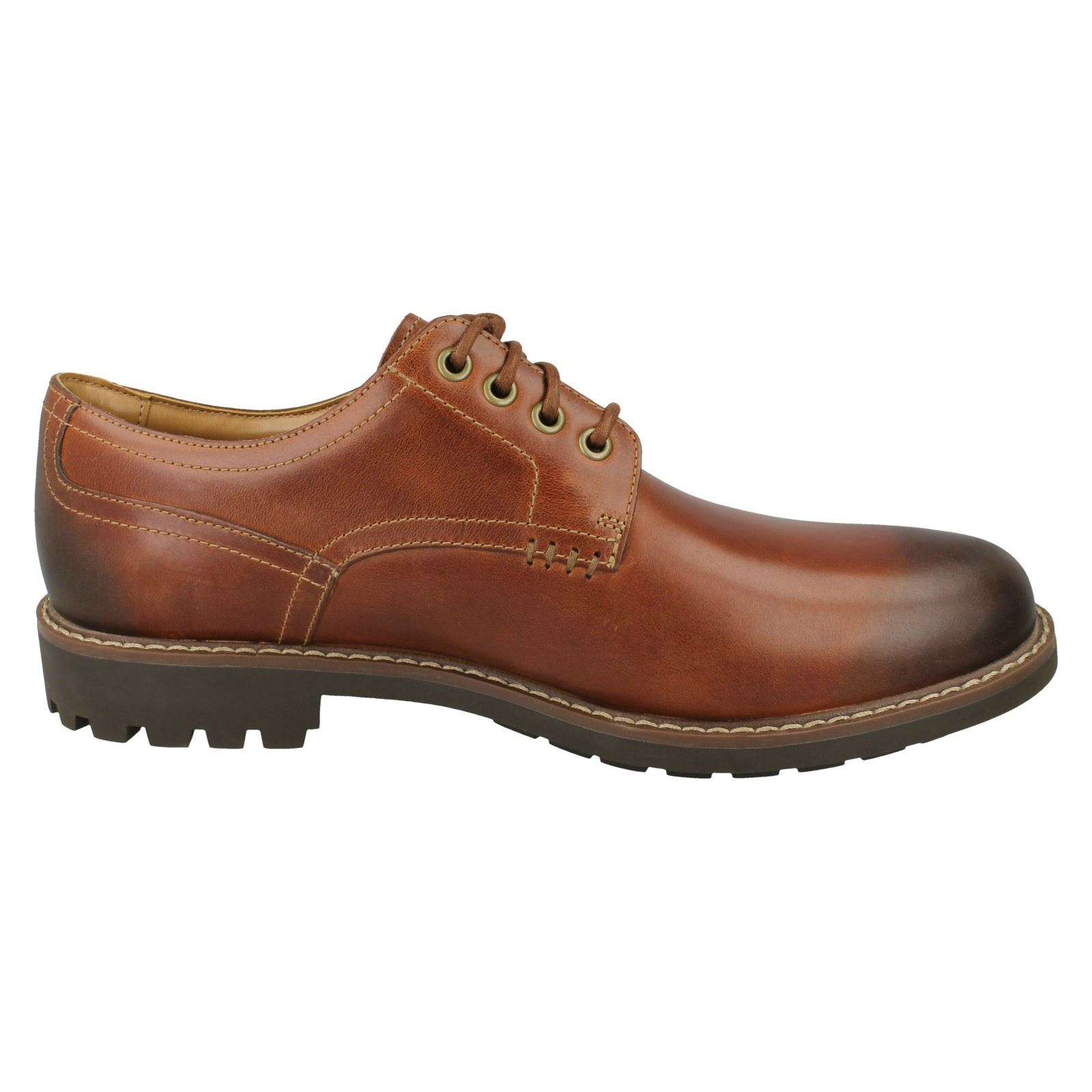 Mens Clarks Montacute Hall Formal  Lace Up Shoes