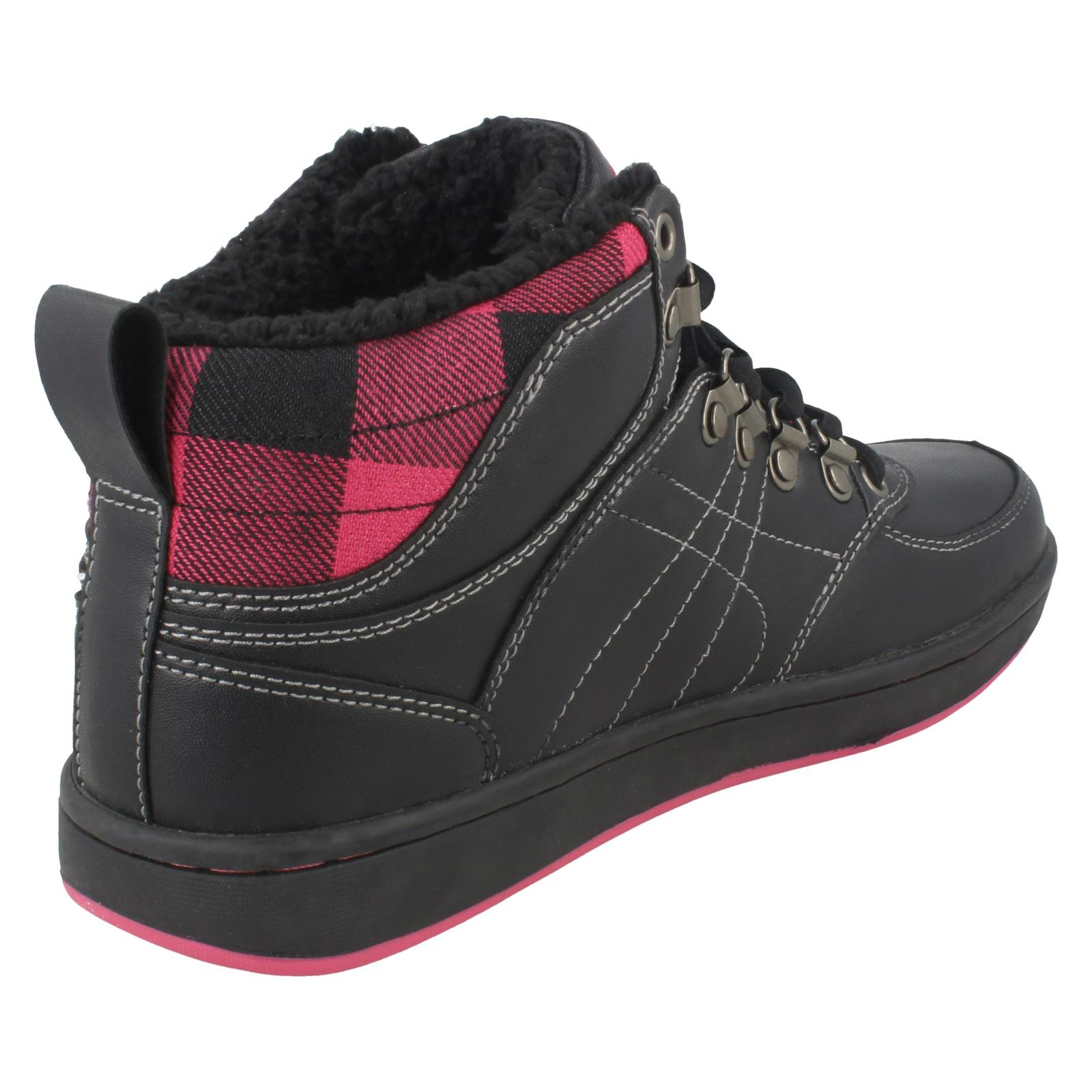 Ladies Mercury Hi Top Trainers /'Jackie/'