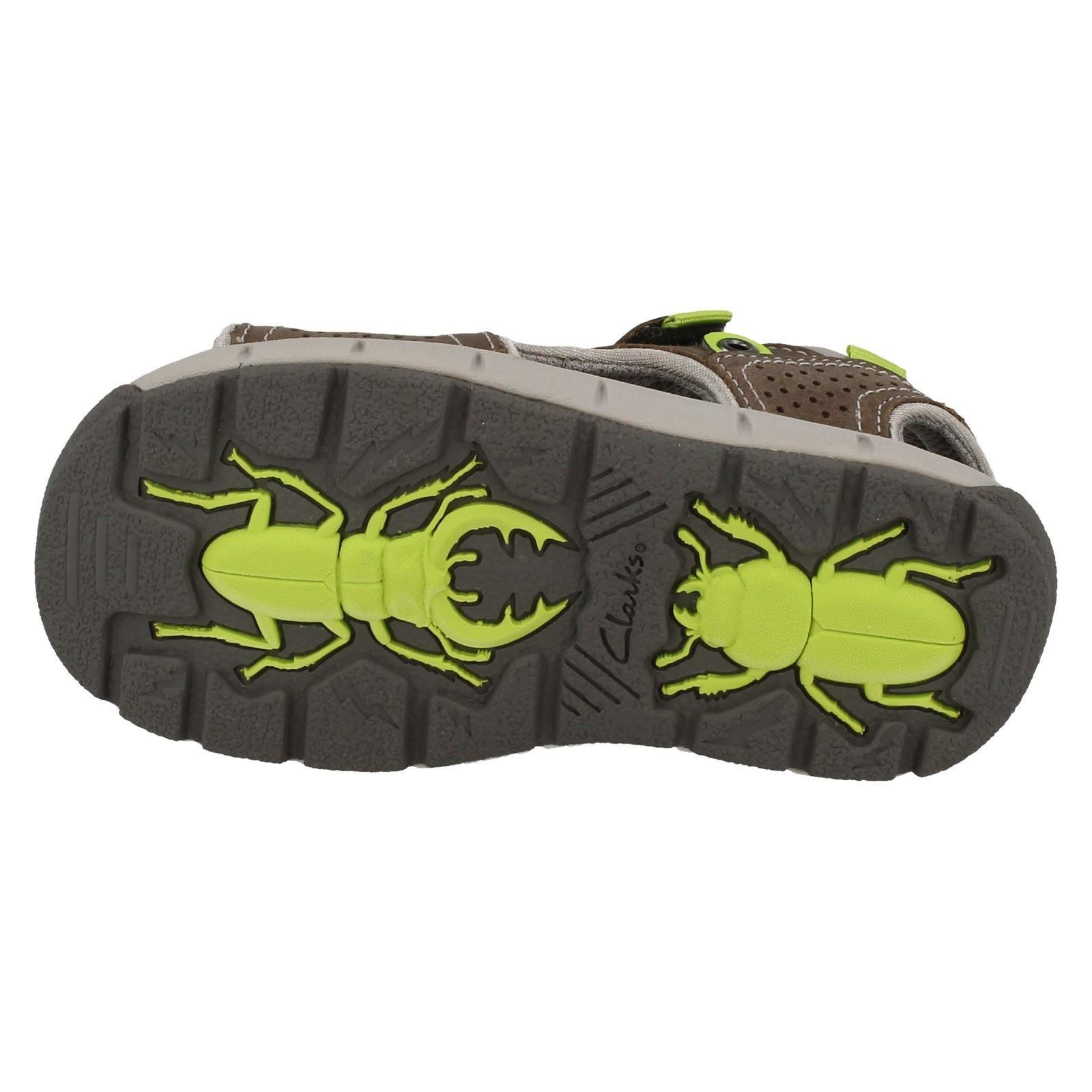 15f7a42f6b6 Infant//Junior Boys Clarks Jolly Wild Casual Summer Sandals