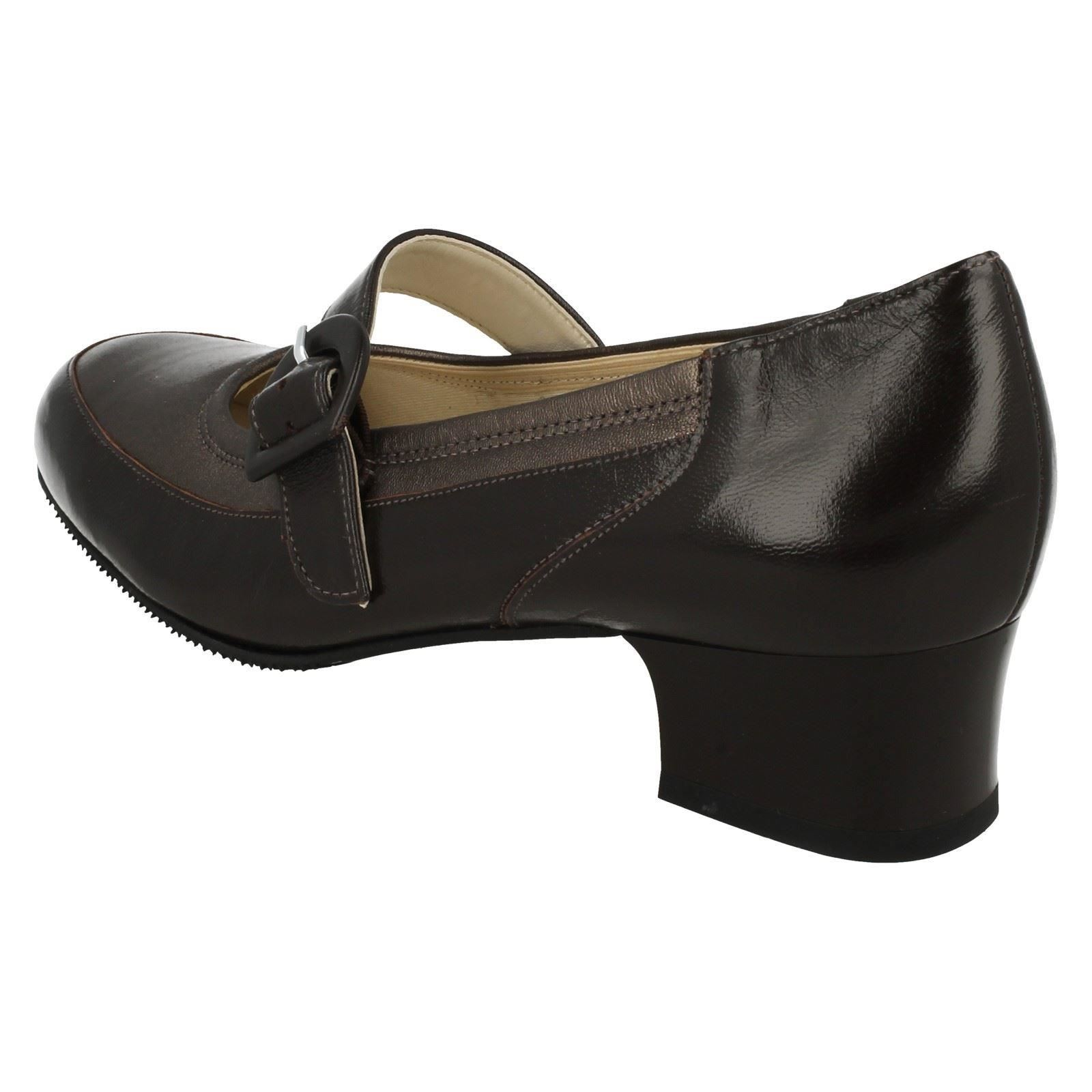 Ladies Equity Mary Jane Heeled Shoes Edith