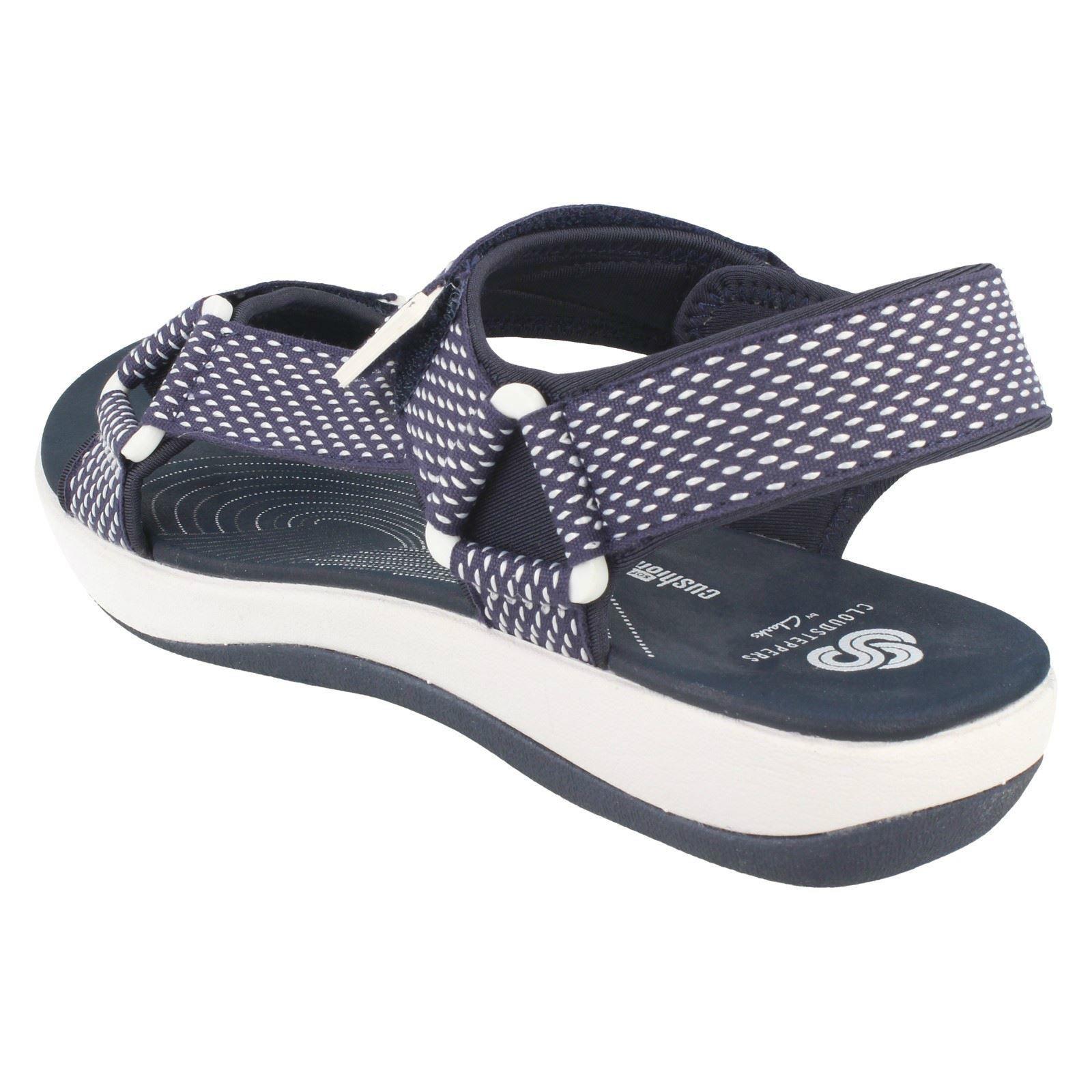 Ladies Clarks Brizo Cady Casual Strappy Sandals