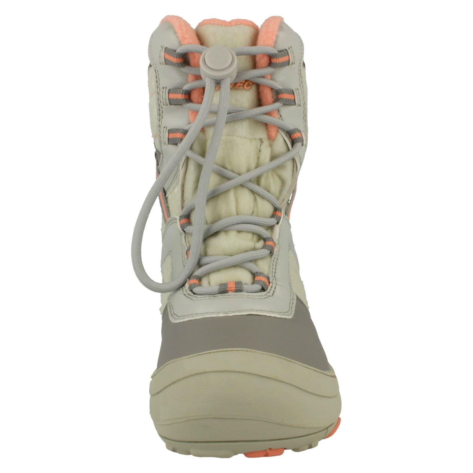 Girls Hi-Tec Casual Speed Lace Snow Boots /'Slalom 200/'