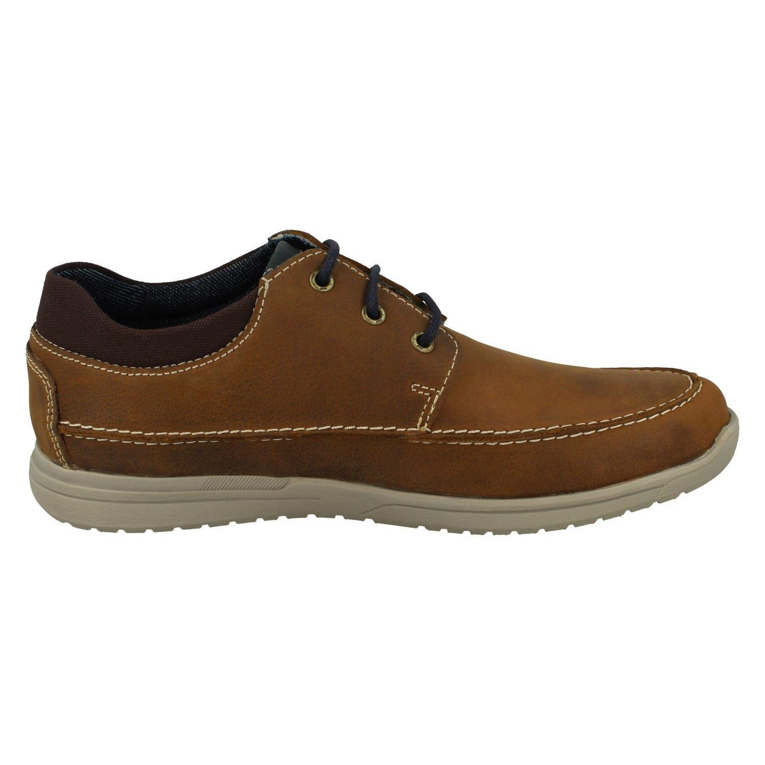 Mens Pod Casual Lace Up Shoes Dunlin
