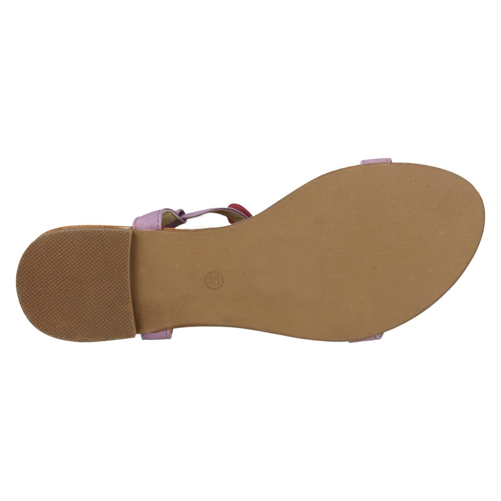 Sandals With Flower Motif Ladies Savannah
