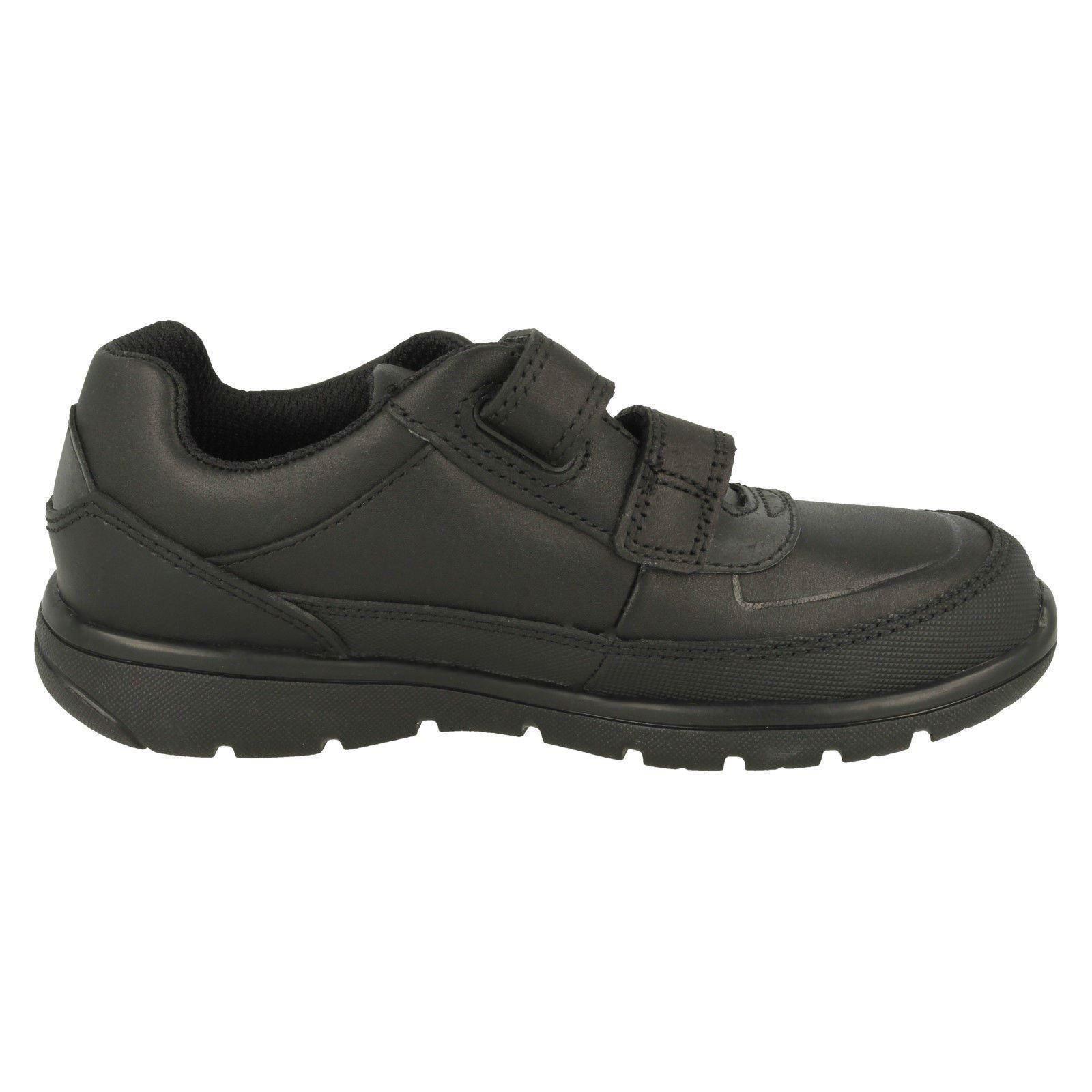 Boys Clarks Hook /& Loop School Shoes Venture Walk