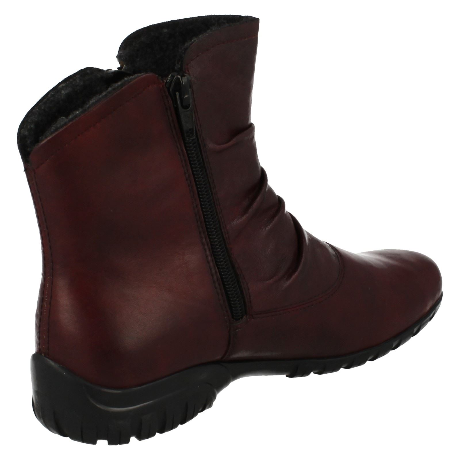 Ladies Rieker Casual Ankle Boots Z4663