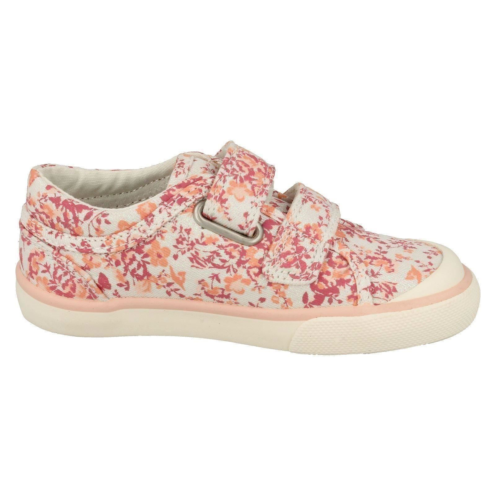 Childrens Boys Girls Startrite Canvas Shoes Bounce