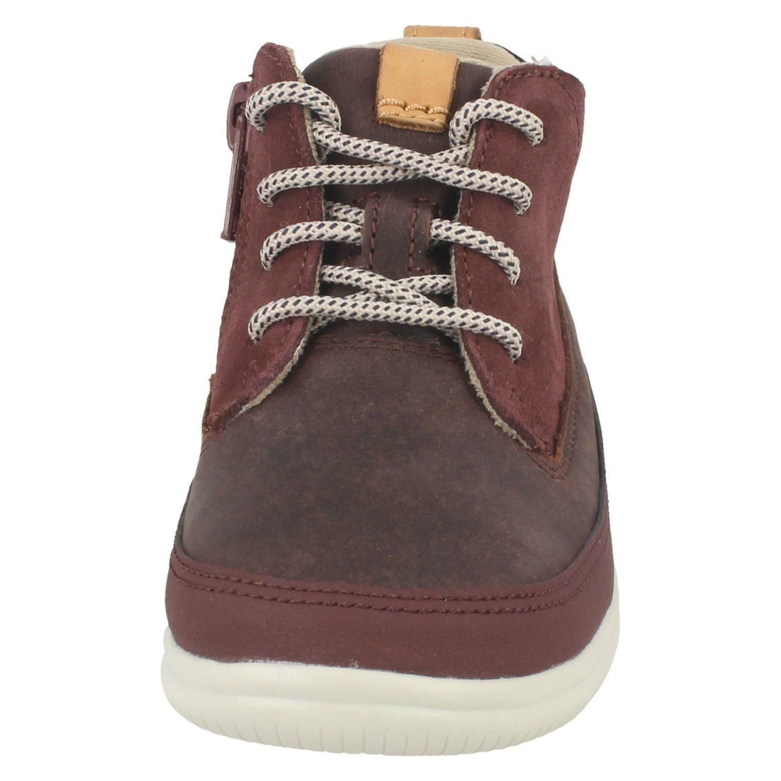Boys Clarks Casual Ankle Boots /'Cloud Air/'