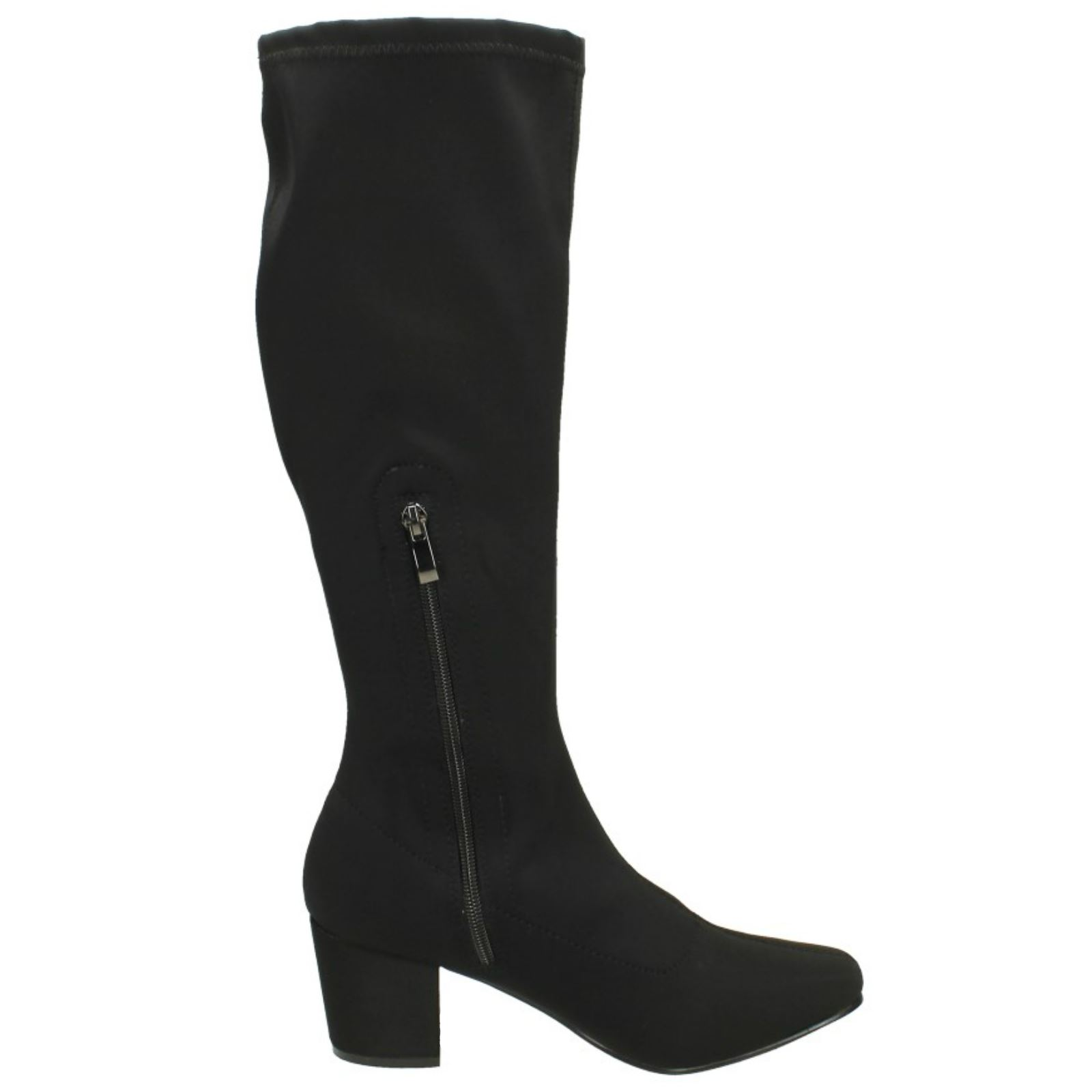 Ladies Spot On Knee High /'Boots/'
