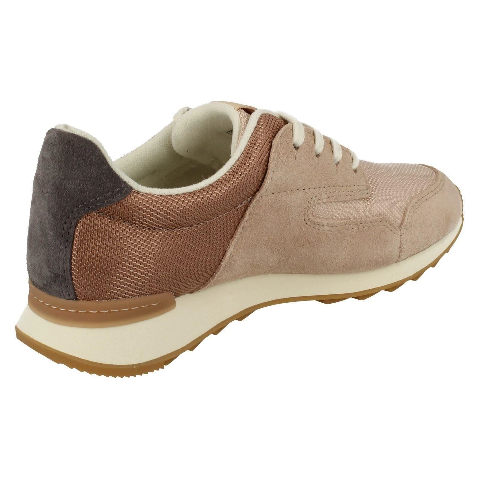 Ladies Clarks Casual Trainer Style Shoes /'Floura Mix/'