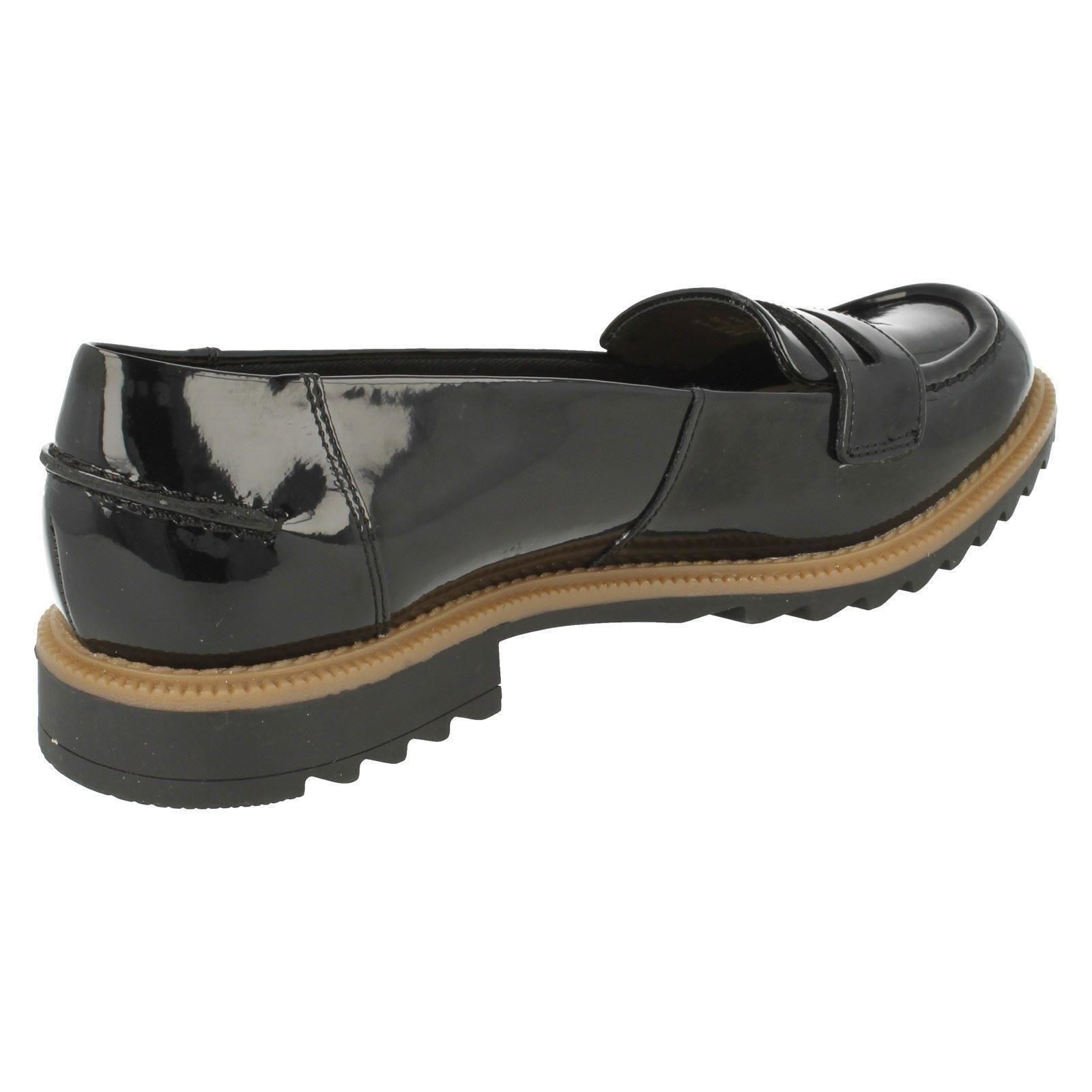 """Ladies Clarks Smart Slip On Loafers /""""Griffin Milly/"""""""
