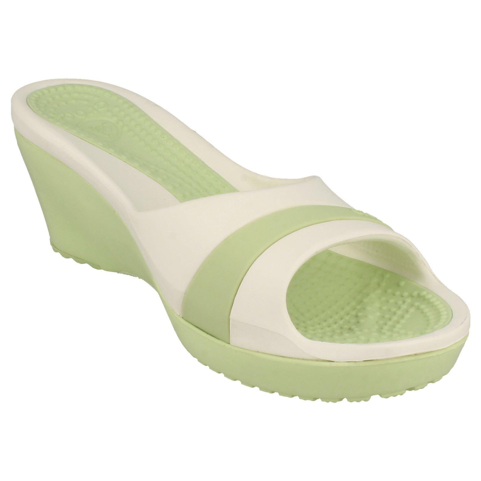 Ladies Crocs Wedge Sandal *Sassari*