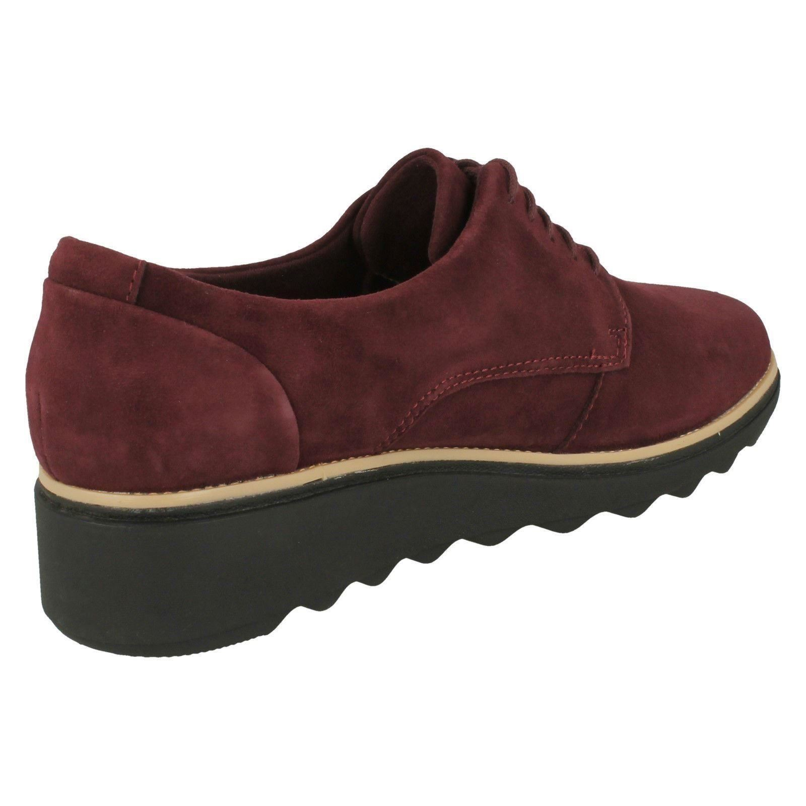 Femmes Clarks Smart Lacets Chaussures-Sharon NOEL