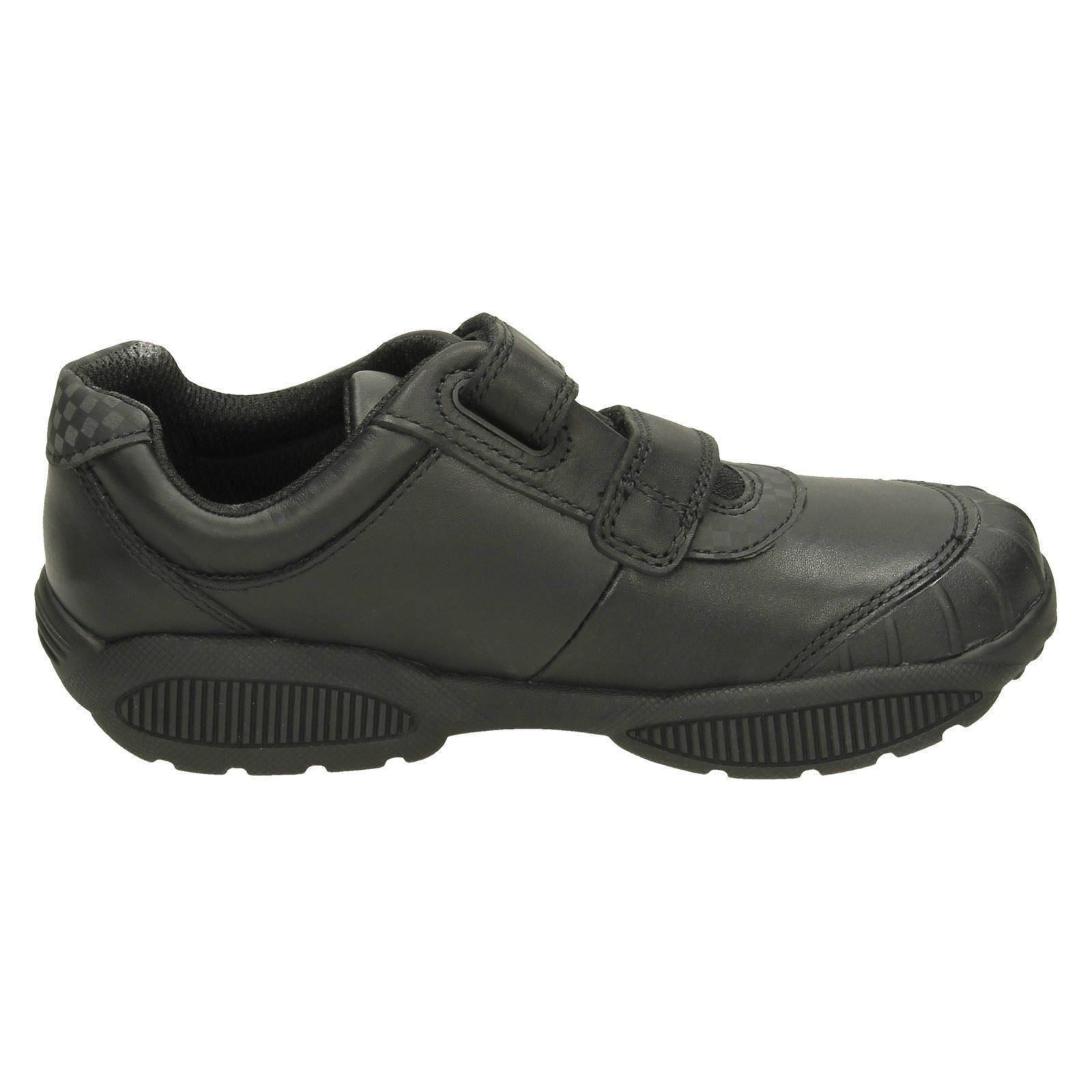 Jonas Glo Boys Clarks Scuff Protection Formal Shoes