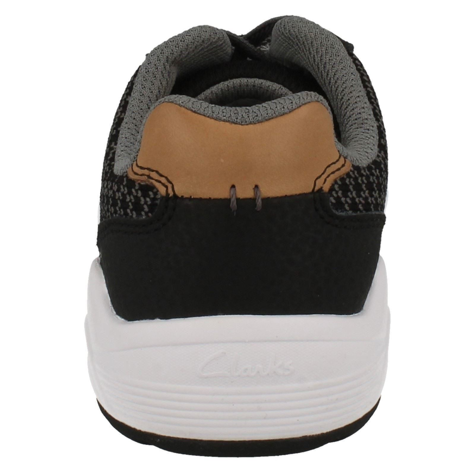 Boys Clarks Trainers Frisby Rise