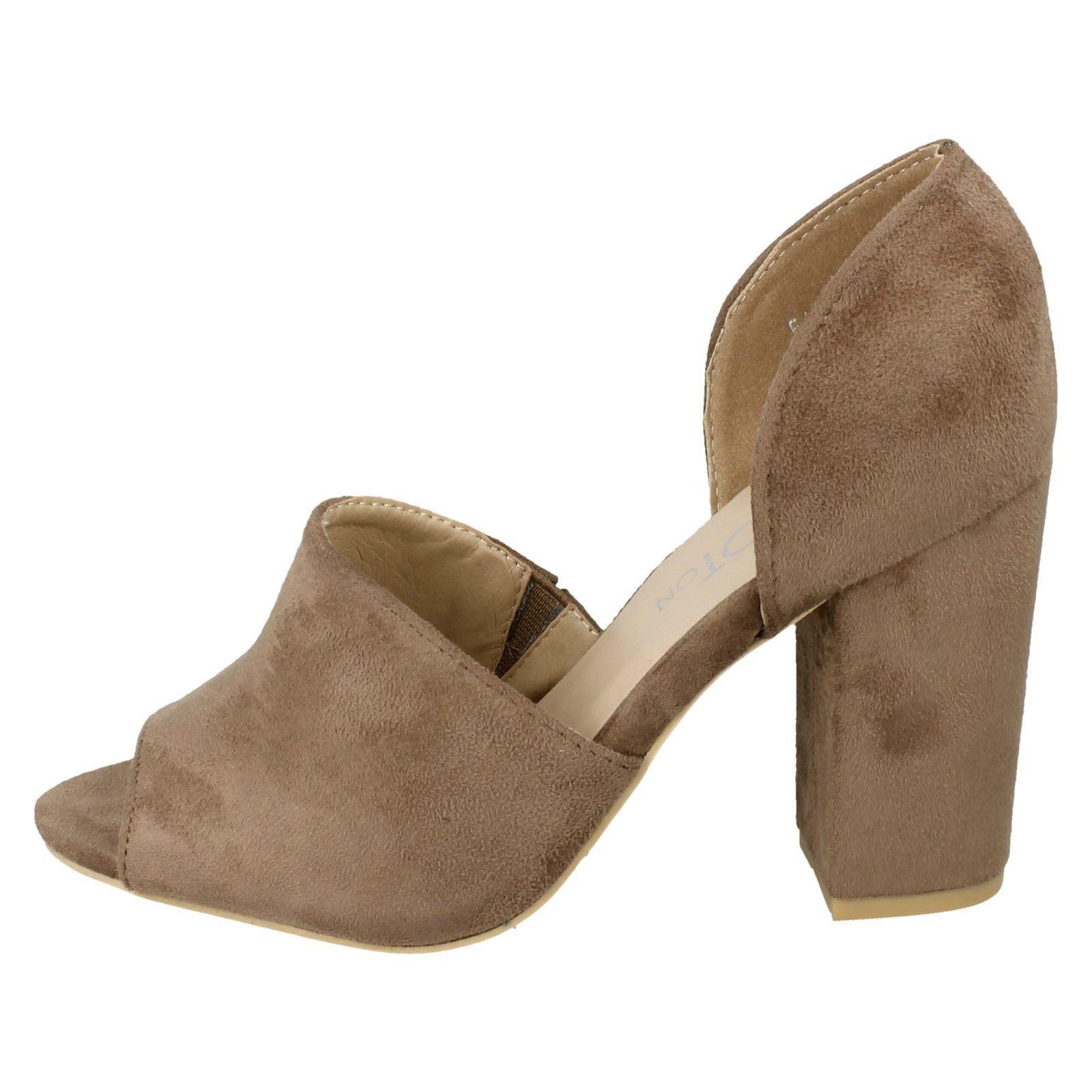 Femmes Spot on Haute à Talon bottier Mule Sandale