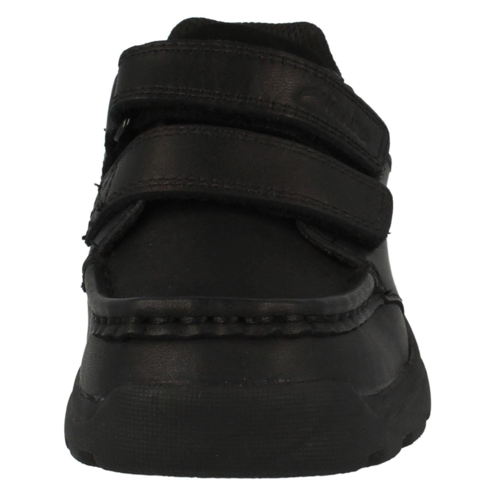 Boys Clarks Leather School Shoes *Zayden Go*