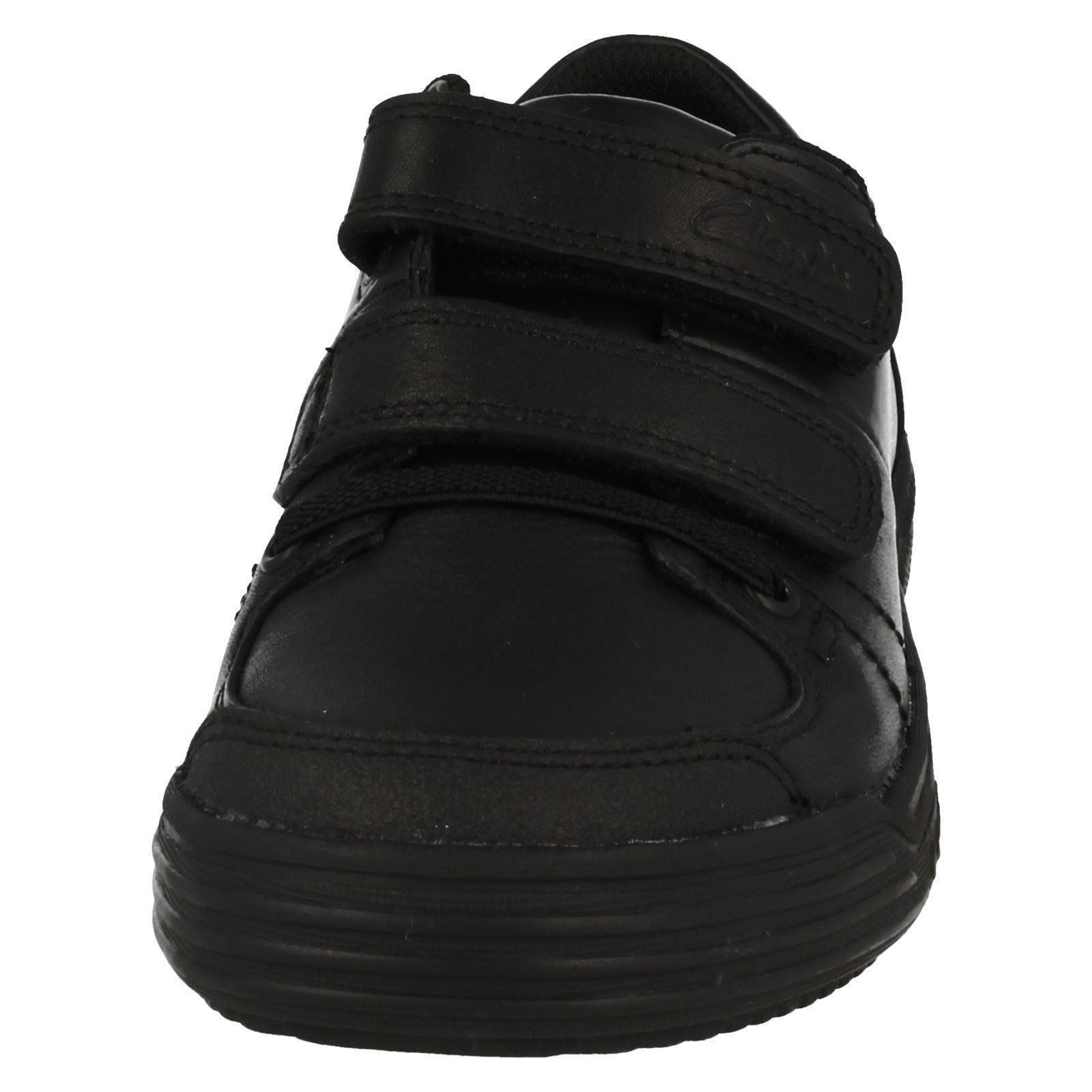 Clarks Boys Smart School Shoes Chad Racer