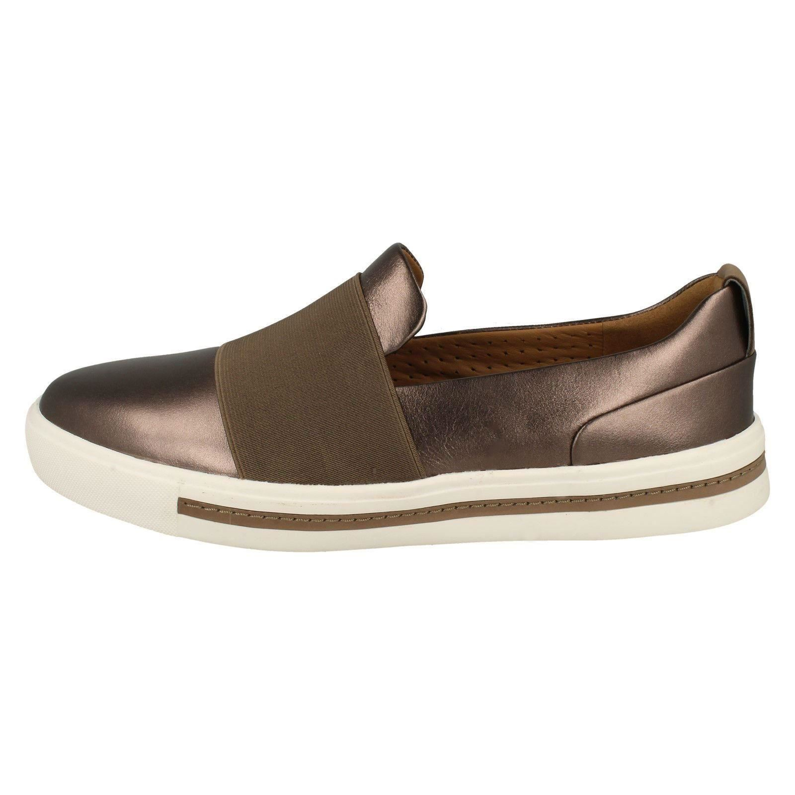 Femmes Clarks Unstructured Slip On Chaussures ONU Maui étape