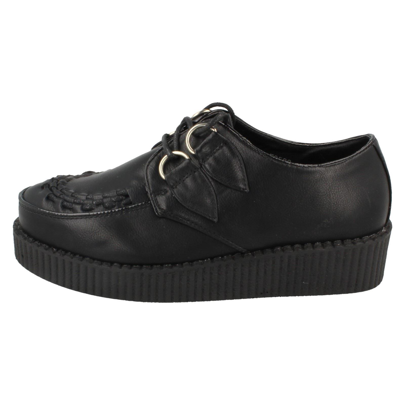 Femmes Spot on casual semelles épaisses Chaussures