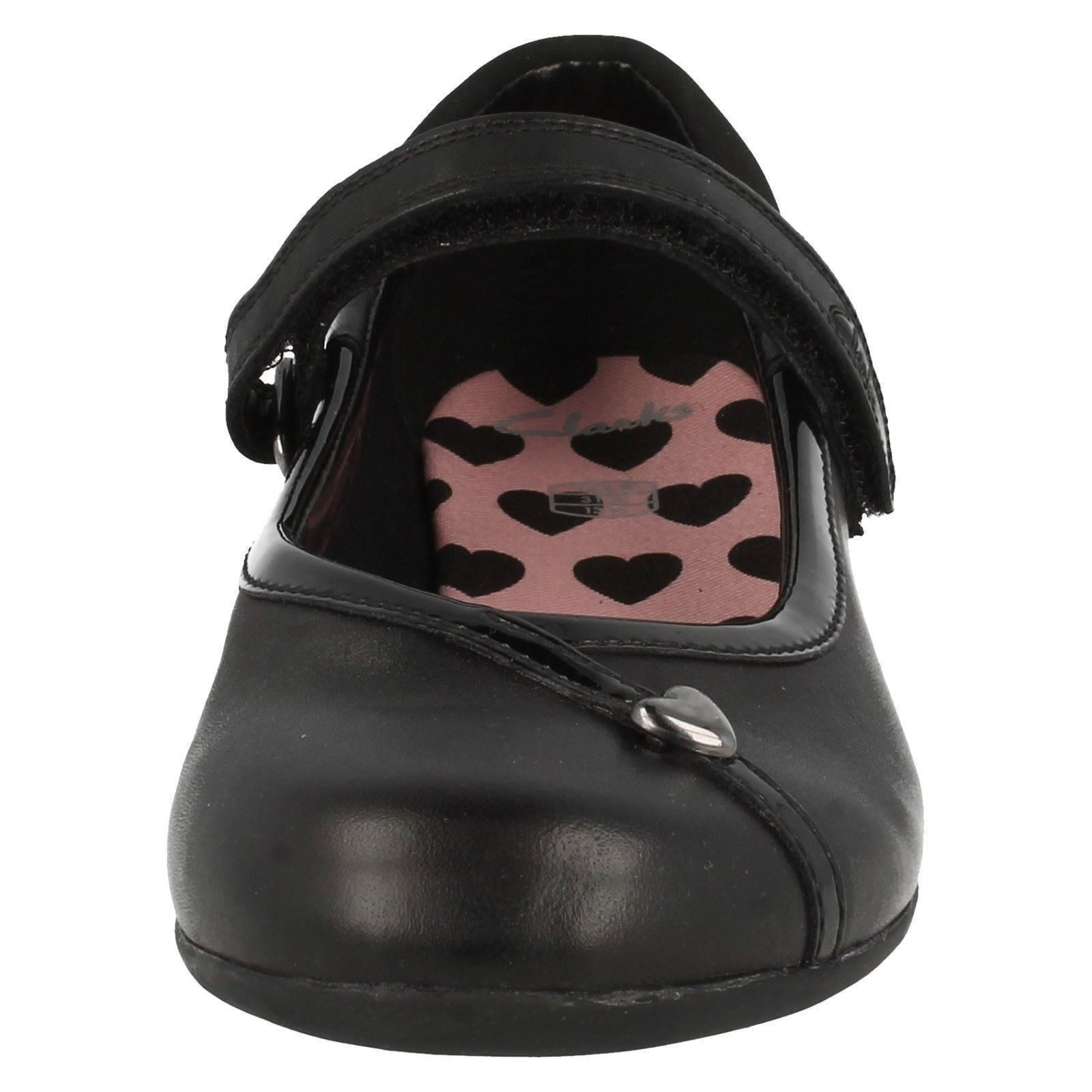 Girls Clarks Formal School Shoes Movello Lo