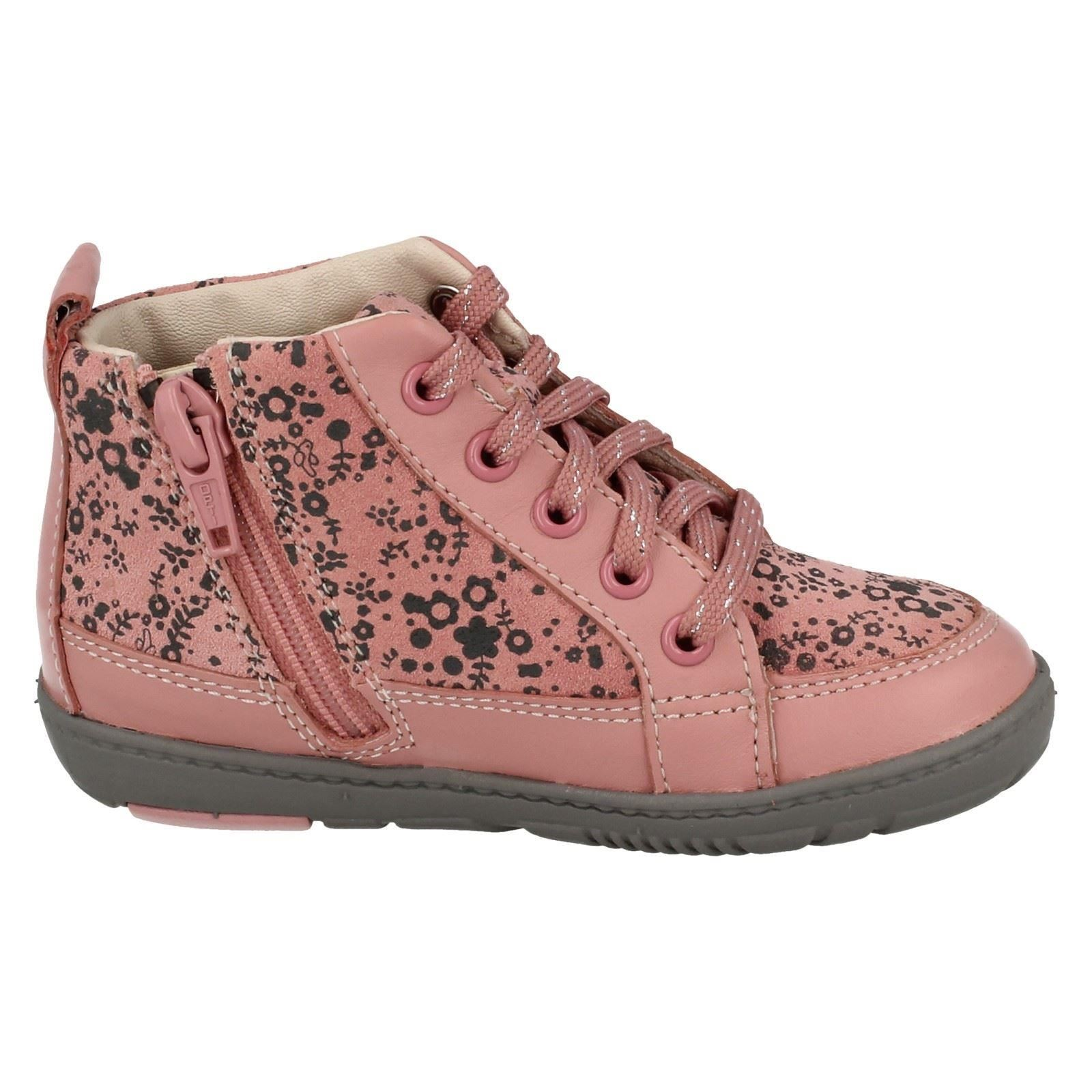 Infant Girls Clarks Max Spring FX Boots /'Maxi Libby/'