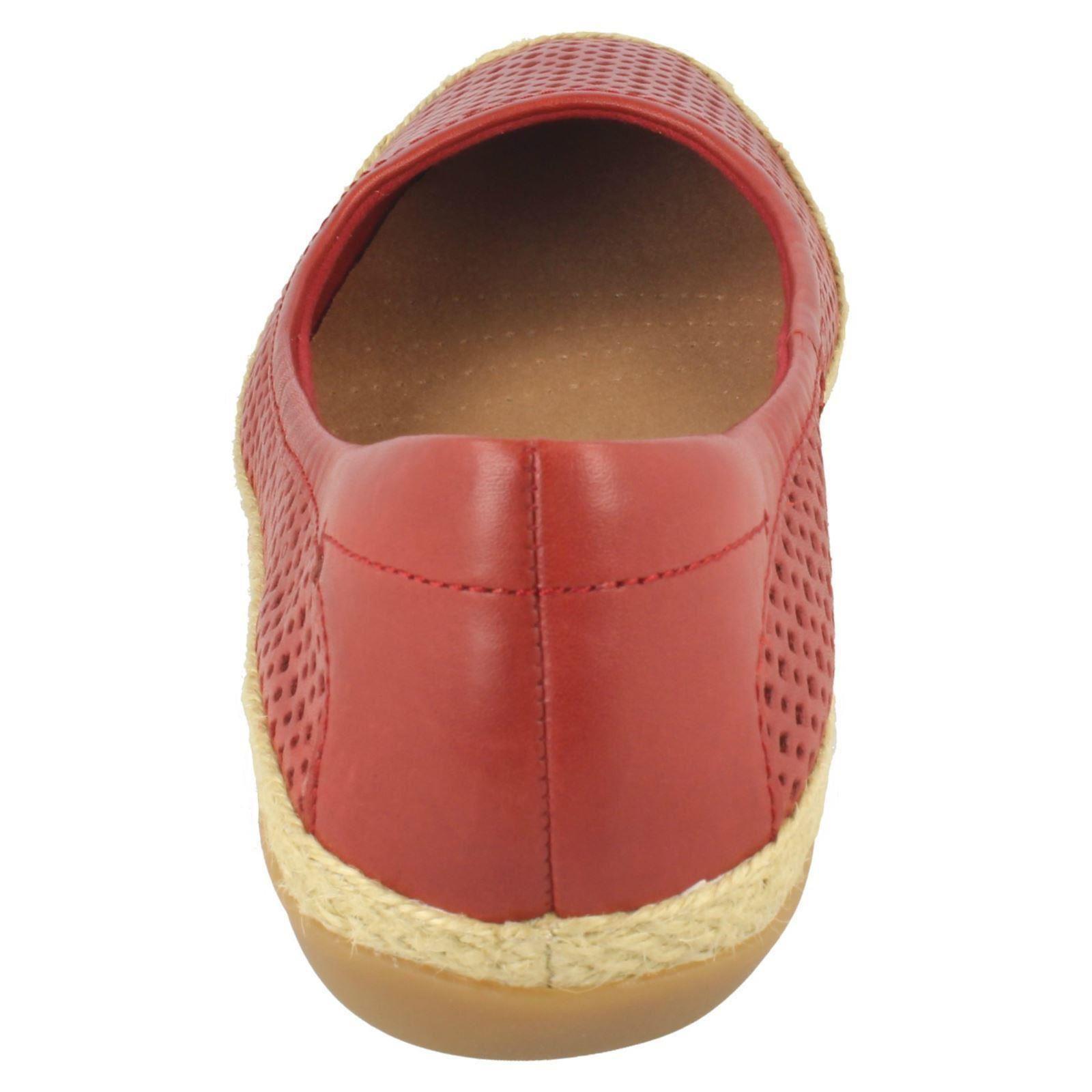 Clarks DANELLY Adira Ladies Summer Ballerina Flat Shoes
