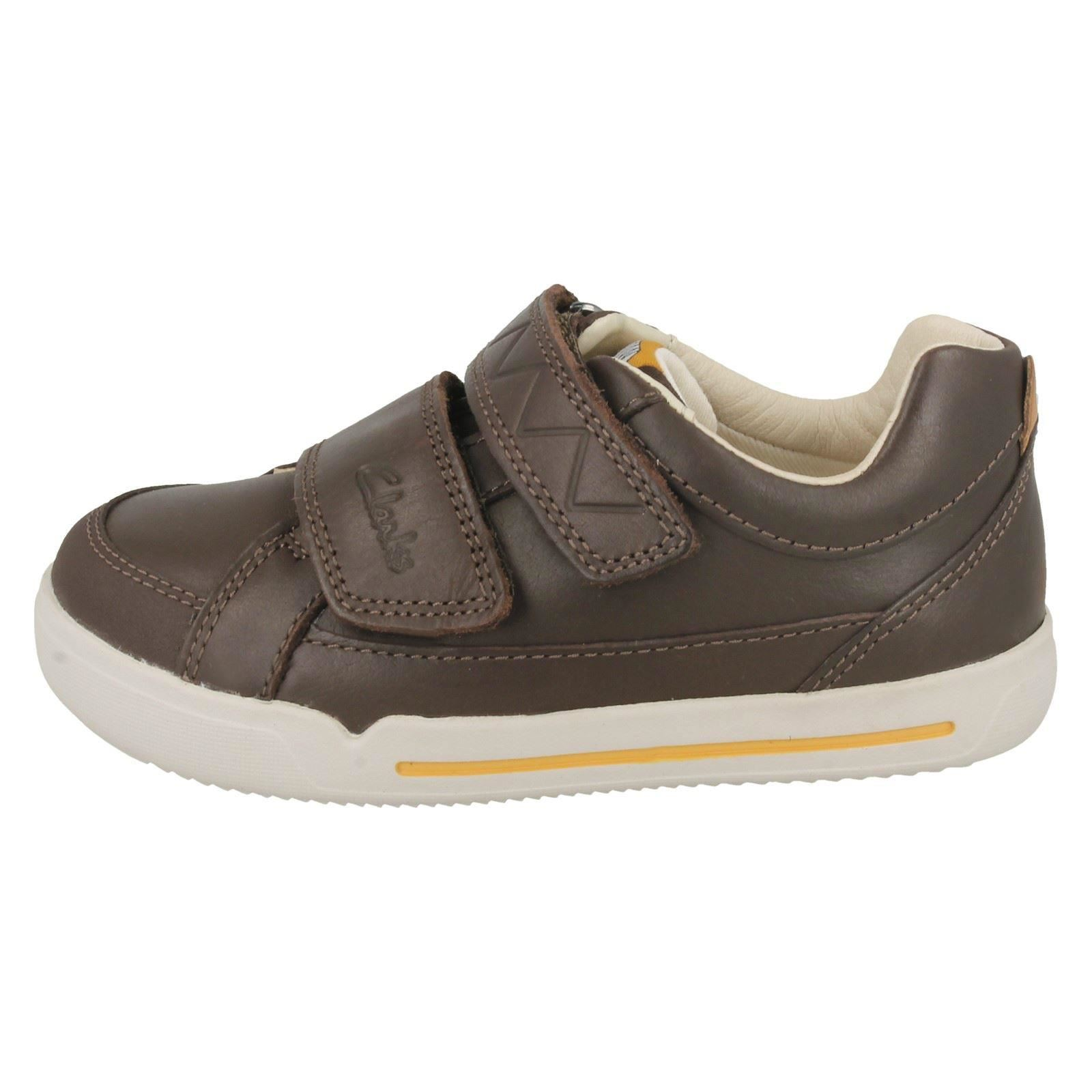 """Boys Clarks Double Strap Casual Shoes /""""Lil Folk Toby/"""""""