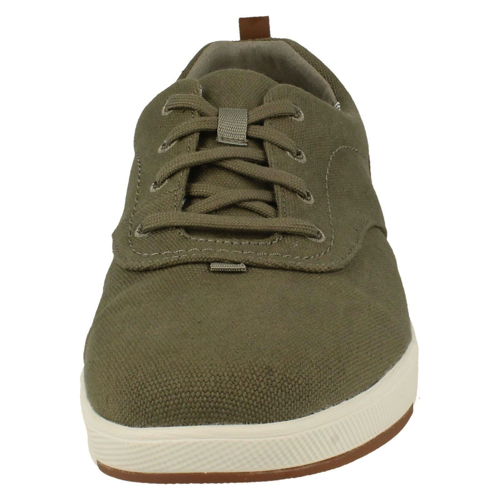 Clarks Mens Stylish Lace Up Trainers Step Isle Crew
