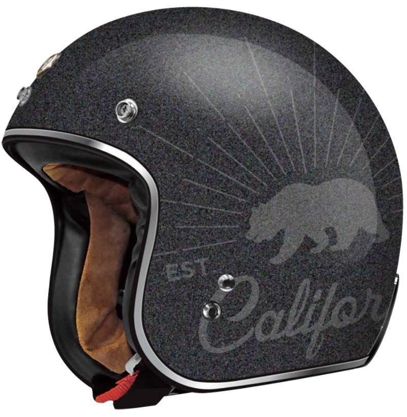 Vintage 3 4 motorcycle helmets