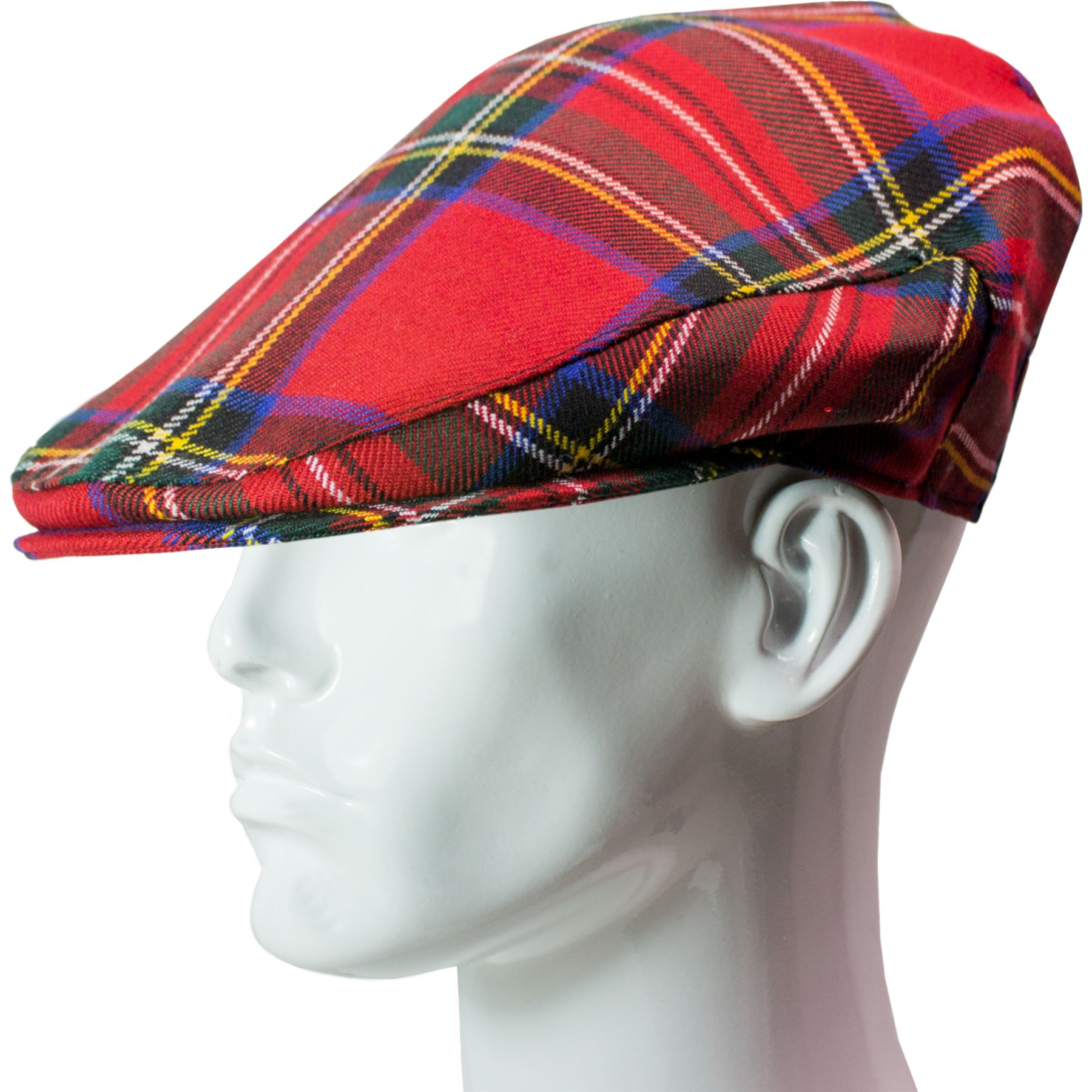 Flat Cap Mens Stewart Royal Modern Sizes 56-62