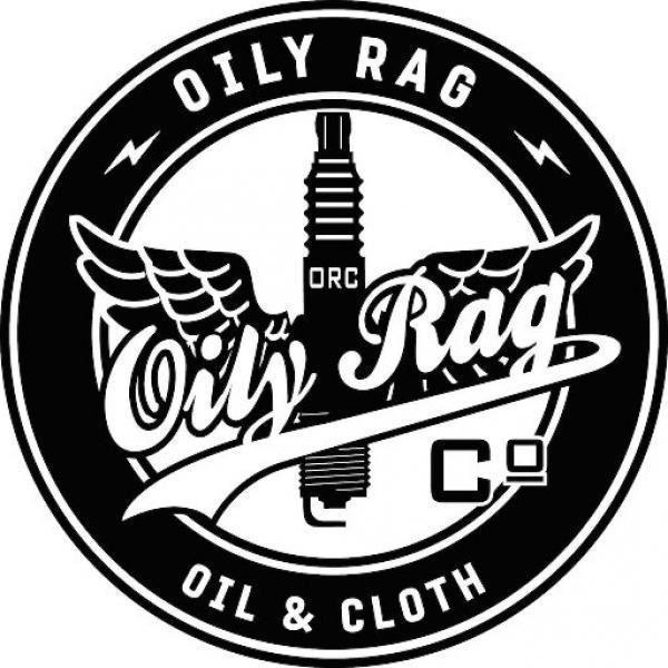 Oily Rag Men/'s Short Sleeve Motorcycle T-Shirt Grey Vintage Yamaha FS1E Fizzy