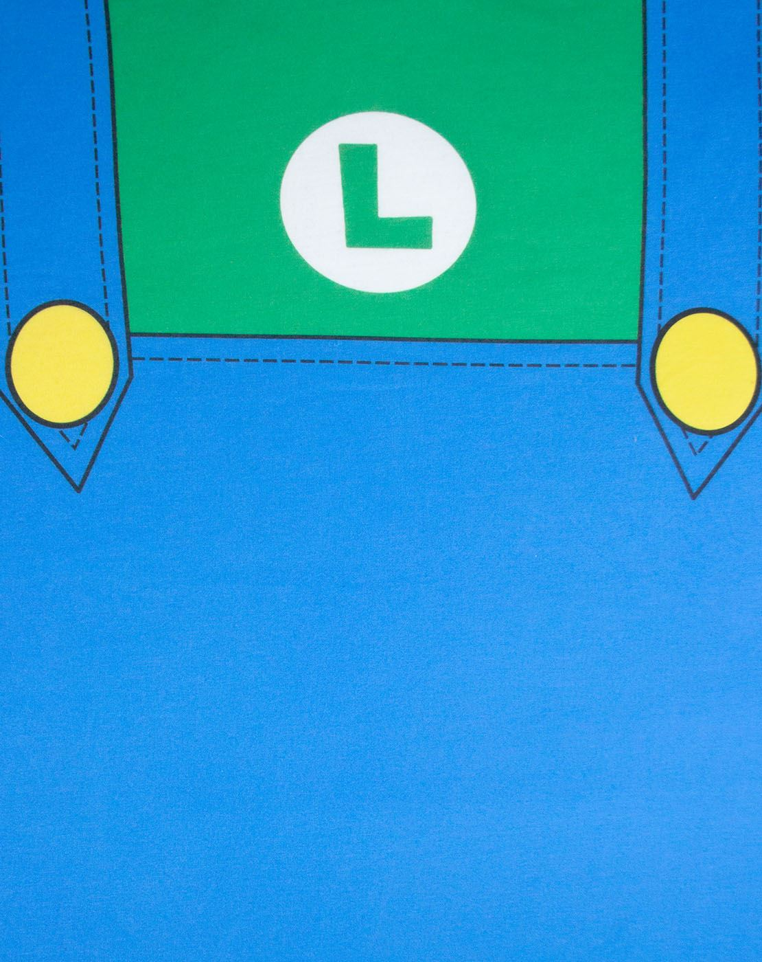 Super Mario Luigi Costume Mens T-Shirt