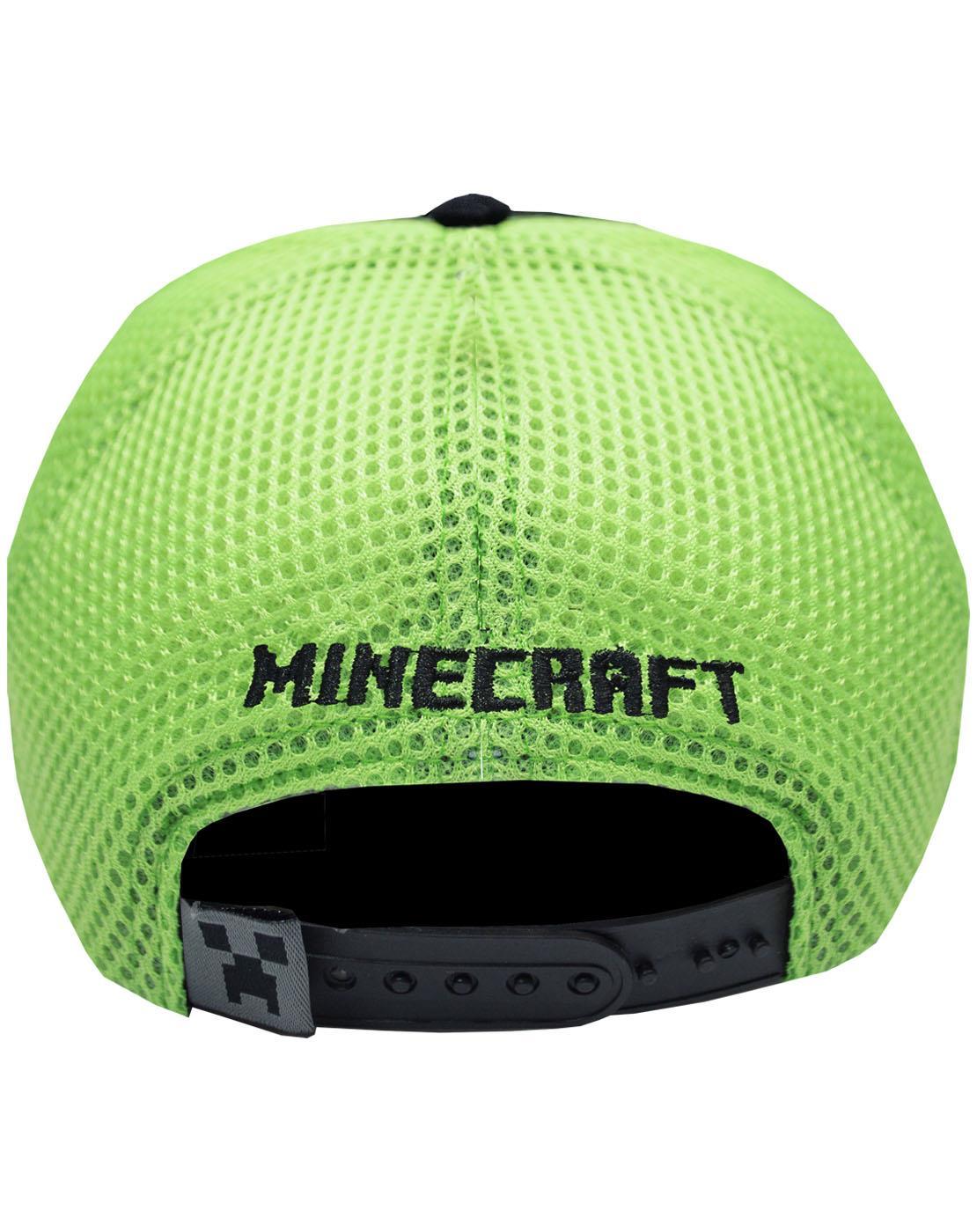 Creeper Diamond Steve Overworld Minecraft Boys//Youth Baseball Snapback Caps