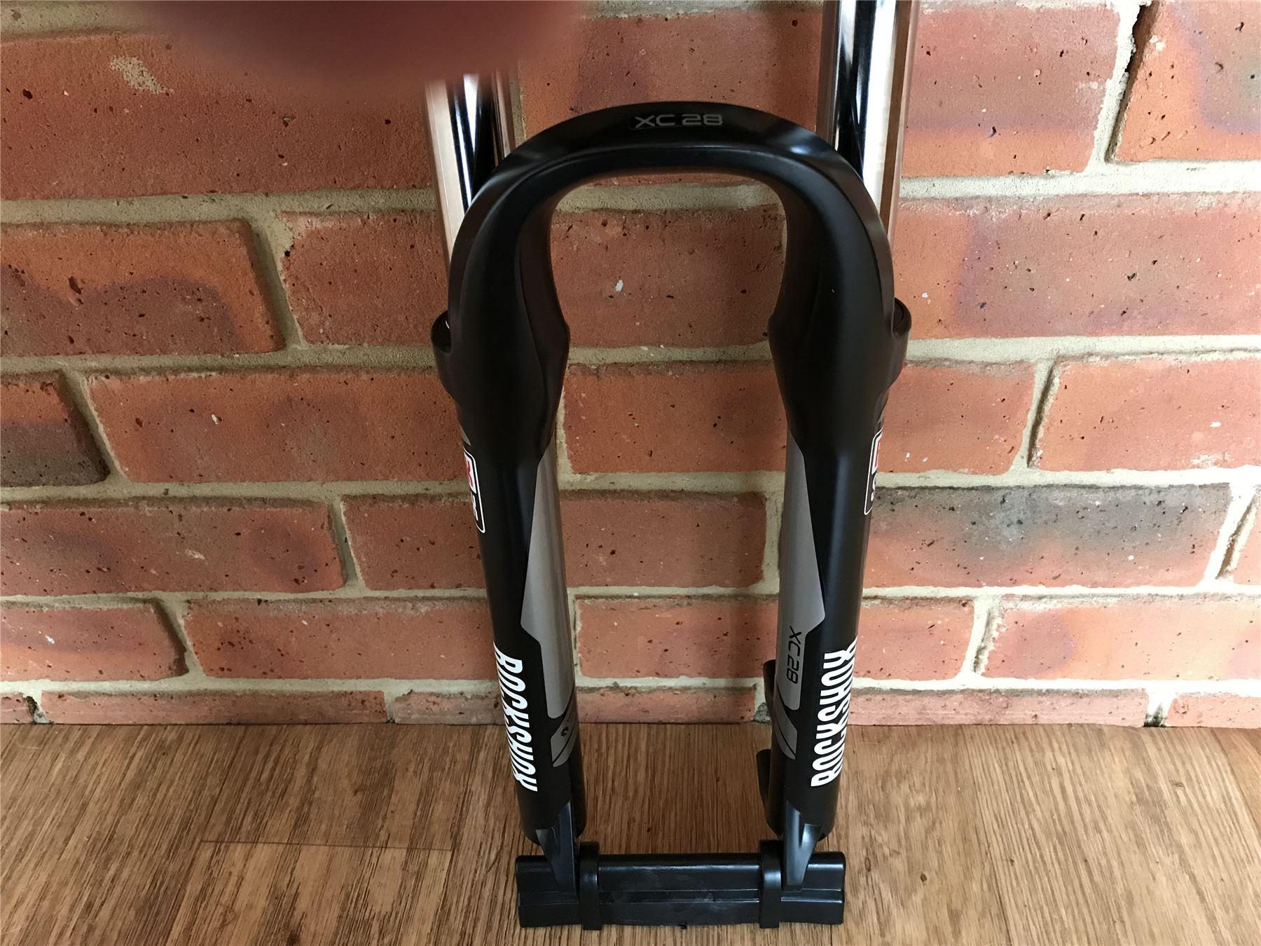 """ROCKSHOX XC28 TK Mountain Bike Oil Suspension Fork Manual Lockout Disc Brake 26/"""""""
