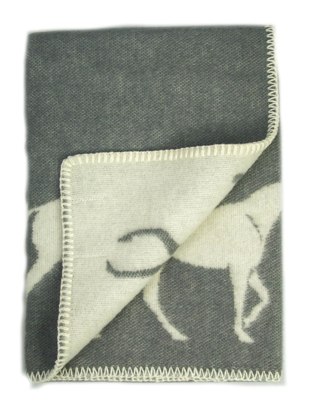 Haute Qualité Genou Tapis Laine Children/'s Small Blanket Throw mouton lapin cheval