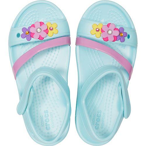 Bleu électrique /& ultraviolet 204030 Crocs Kids Lina Sandales En Candy Rose