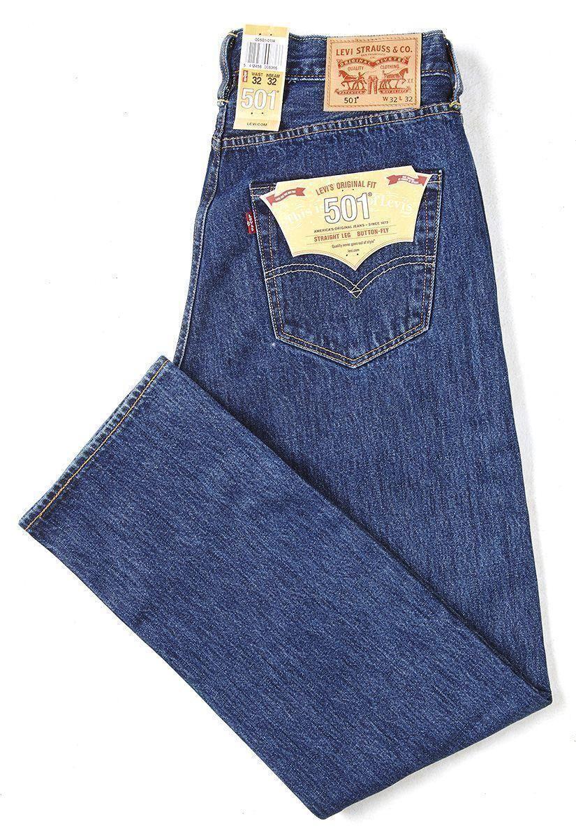 Original Straight Leg Button Fit Fly Levis Classic 501 Jeans a5q6Hnvw