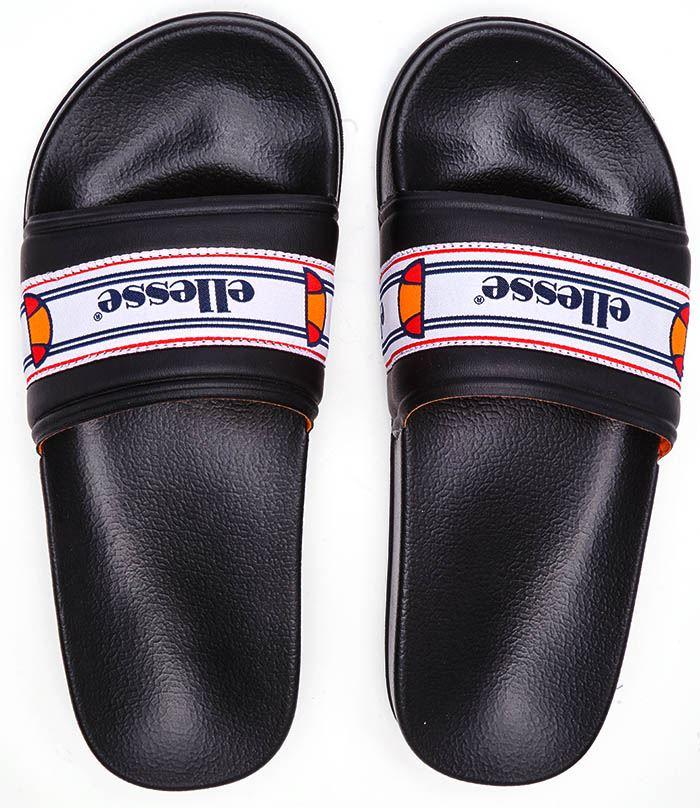 Ellesse Filippo TP Women Beach Pool Slides Summer Sandals in White /& Black