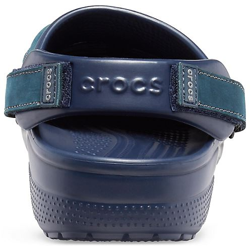 Crocs Yukon Vista Geräumige Passform Clog Schuhe Sandalen in Espresso Khaki /&