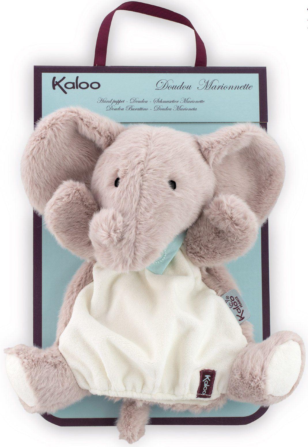 Kaloo Doudou Hand Puppet Penguin Elephant Donkey Soft Toy Baby//Child Gift