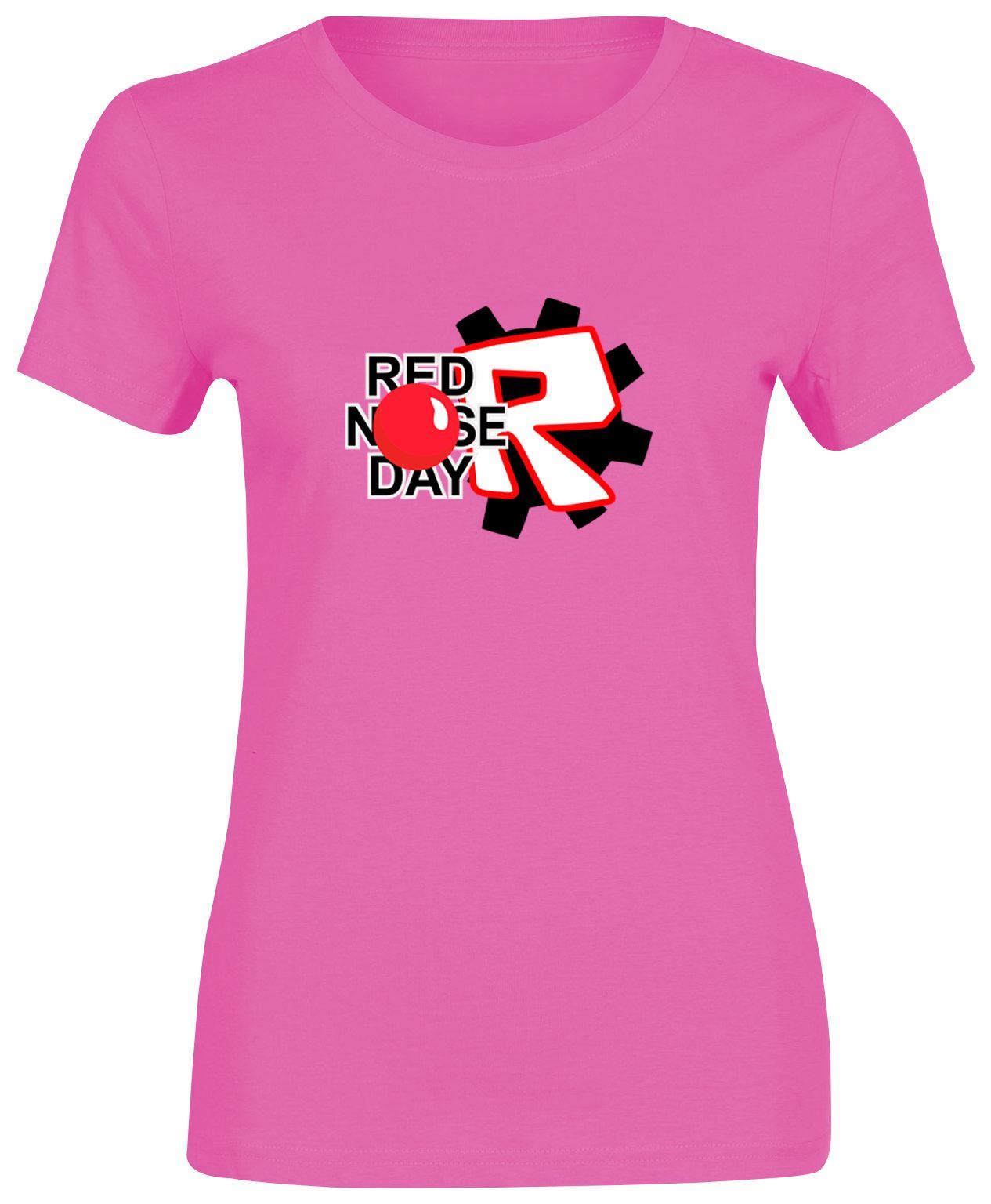 Speed up your internet for free One Page m Red nose day fashion t shirt