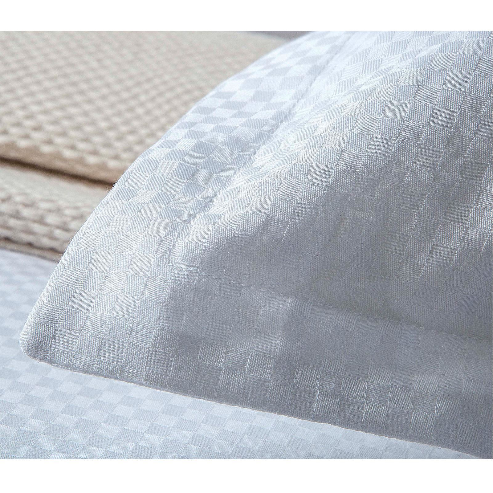 Deluxe Hotel Quality Check Checked 100/%Egyptian Cotton Satin Duvet Cover Bedding