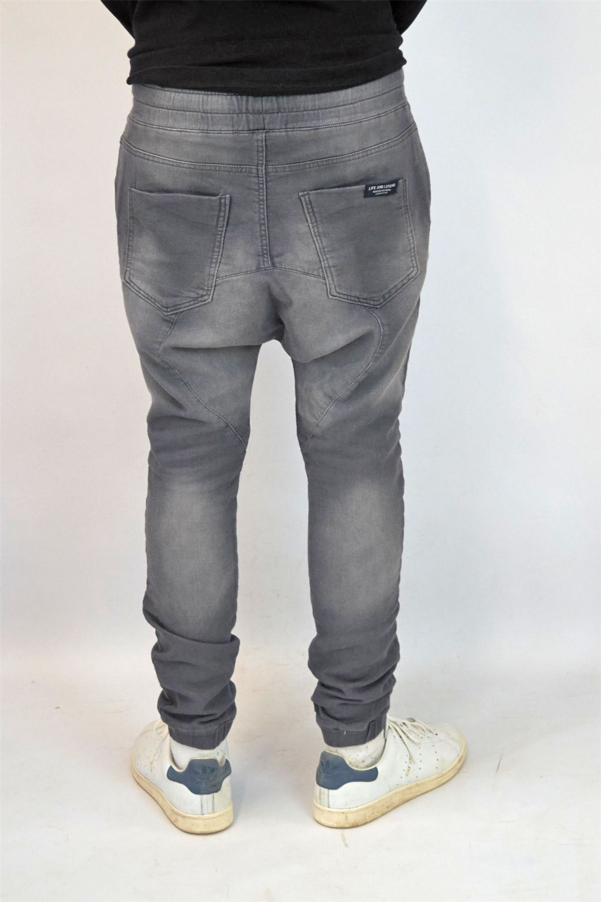 LIFE AND LEGEND Mens Drop Crotch Jogger JeansSALEWas £25